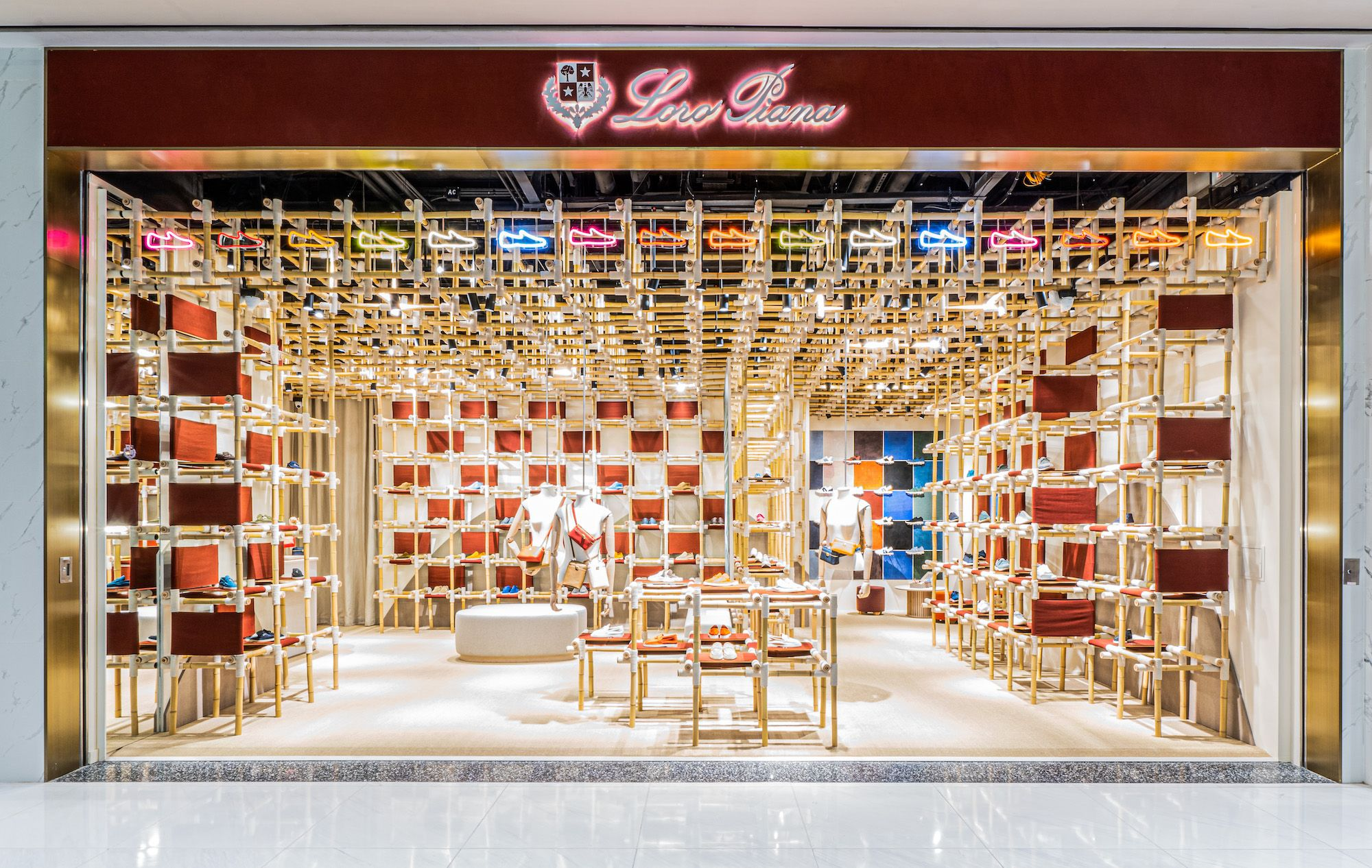 Step Inside: Loro Piana Unveils Its First Rare Walk Store In Asia at K11 Musea