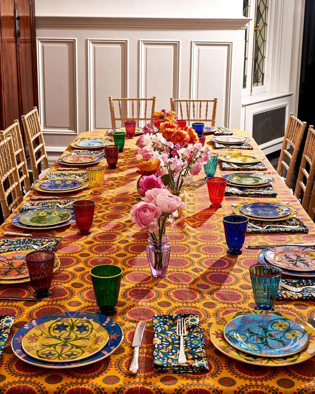Dining At Home: Bold And Bright Tableware To Add To Your Collection This Spring