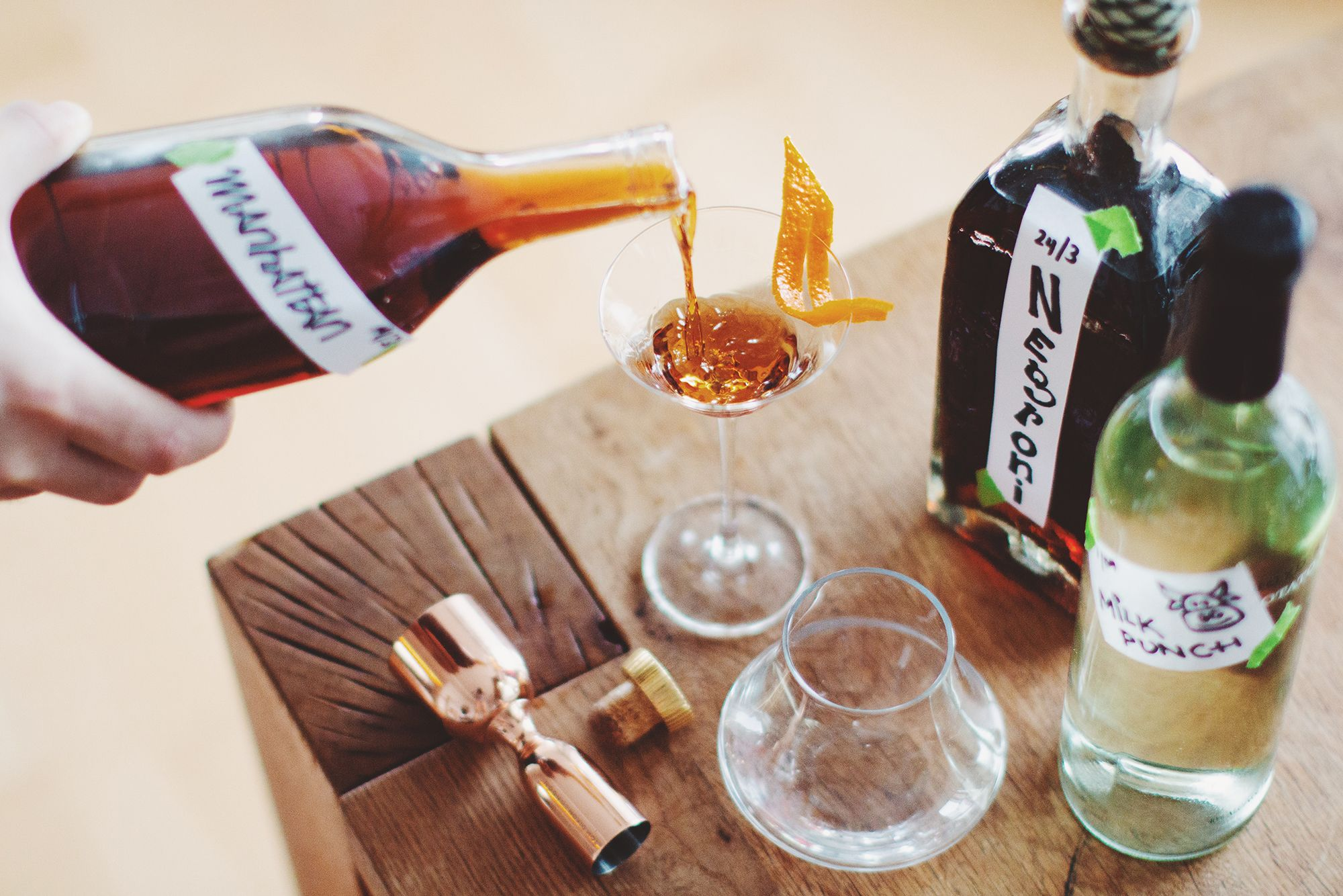 Home Bar Hacks: The Best Pre-Batched Drinks To Make For Keeping In Your Fridge