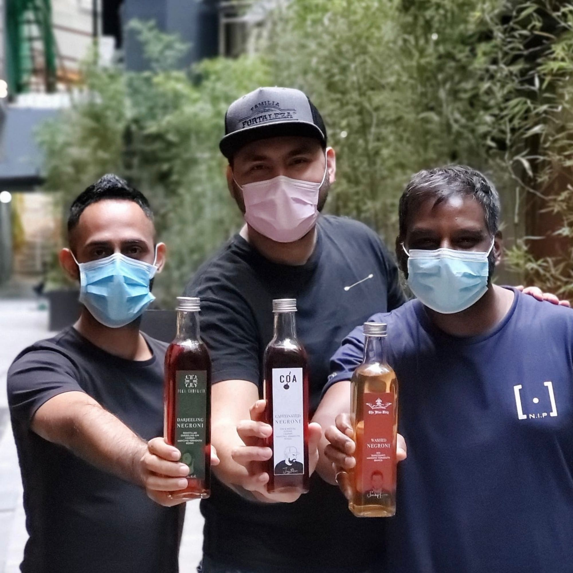 Three Hong Kong Mixologists Pay Tribute To The Local Bar Scene With Limited Edition Bottled Negronis