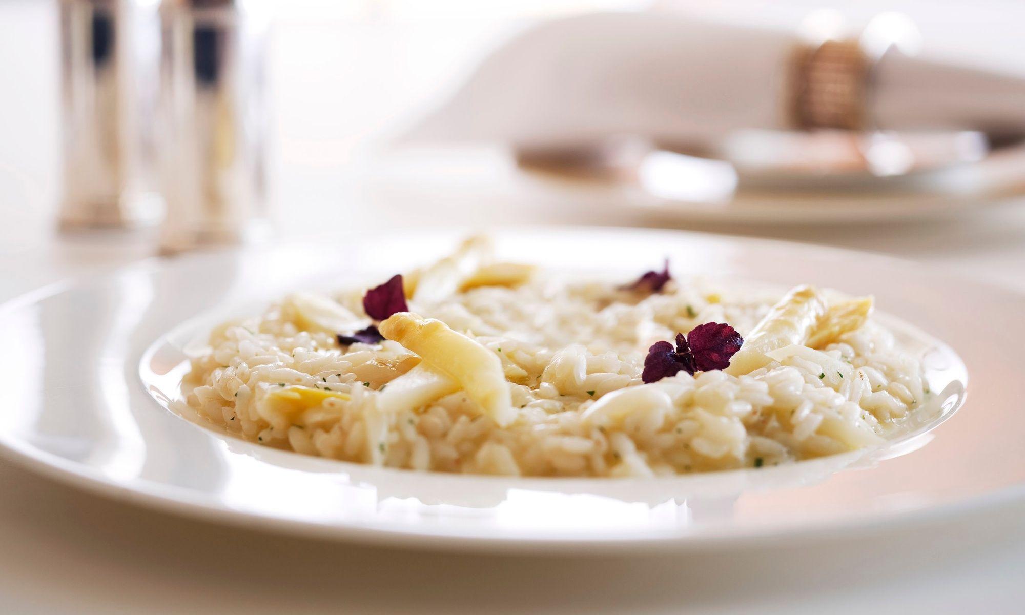 Nicholini's Presents The Season's Best White Asparagus