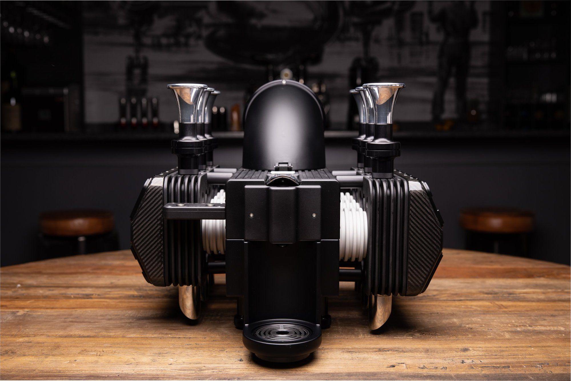 This US$11K Espresso Machine Was Modelled After A Porsche Engine