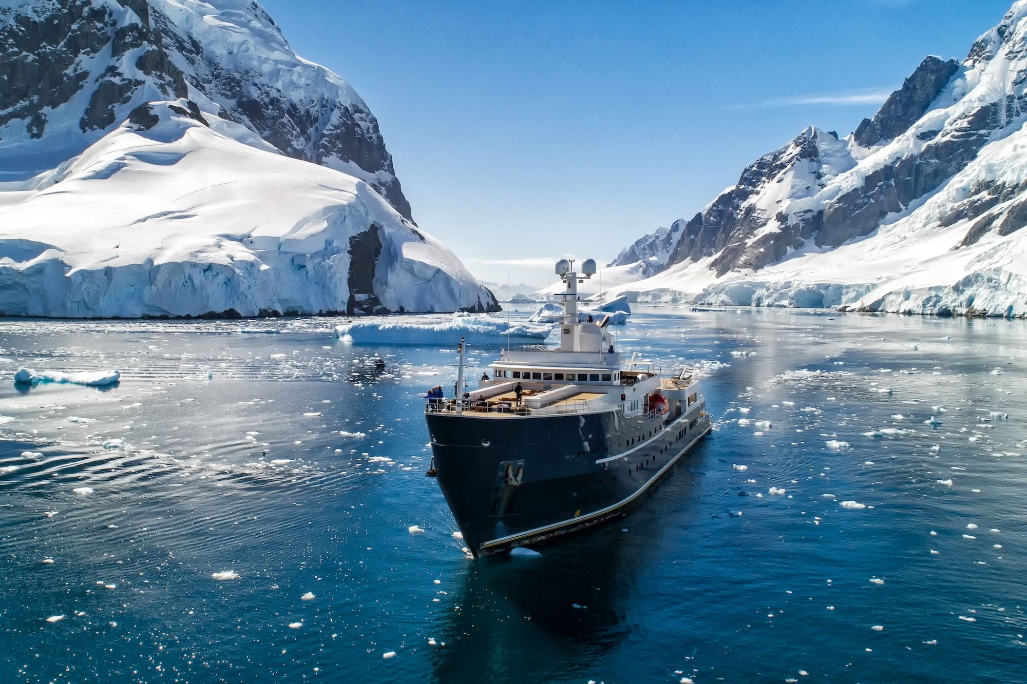 You Can Now Visit The North Pole On A Luxurious Private Expedition Yacht