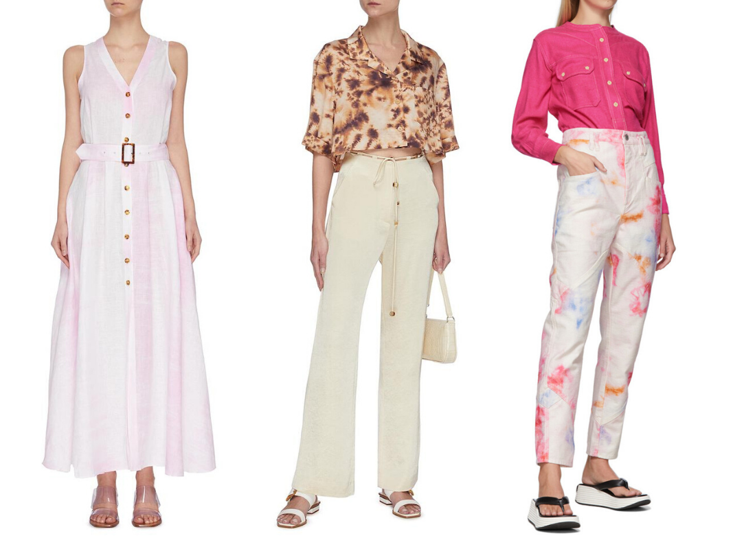 Tap Into Instagram's Biggest Trend With These Chic Tie Dye Pieces