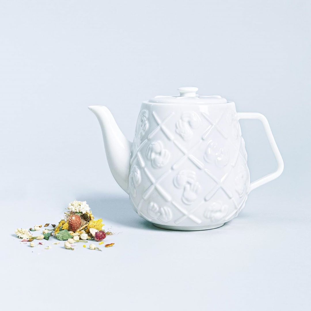 KAWS And AllRightsReserved Join Forces To Create Limited Edition Monogrammed Teapot