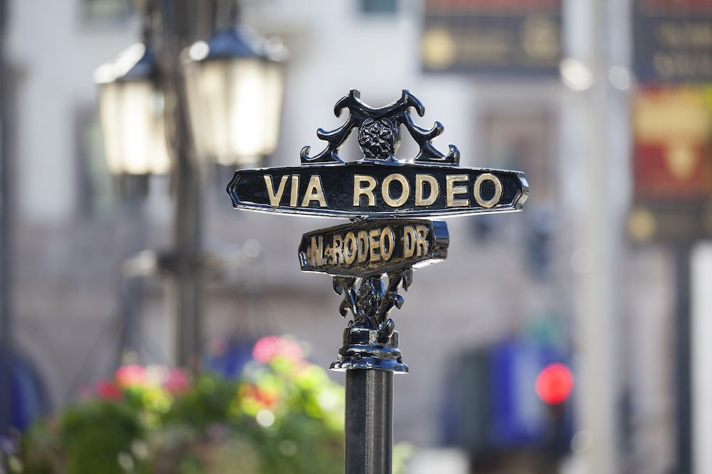 The official Rodeo Drive podcast features stories from one of the most exclusive shopping destinations in the world (photo: Getty Images)