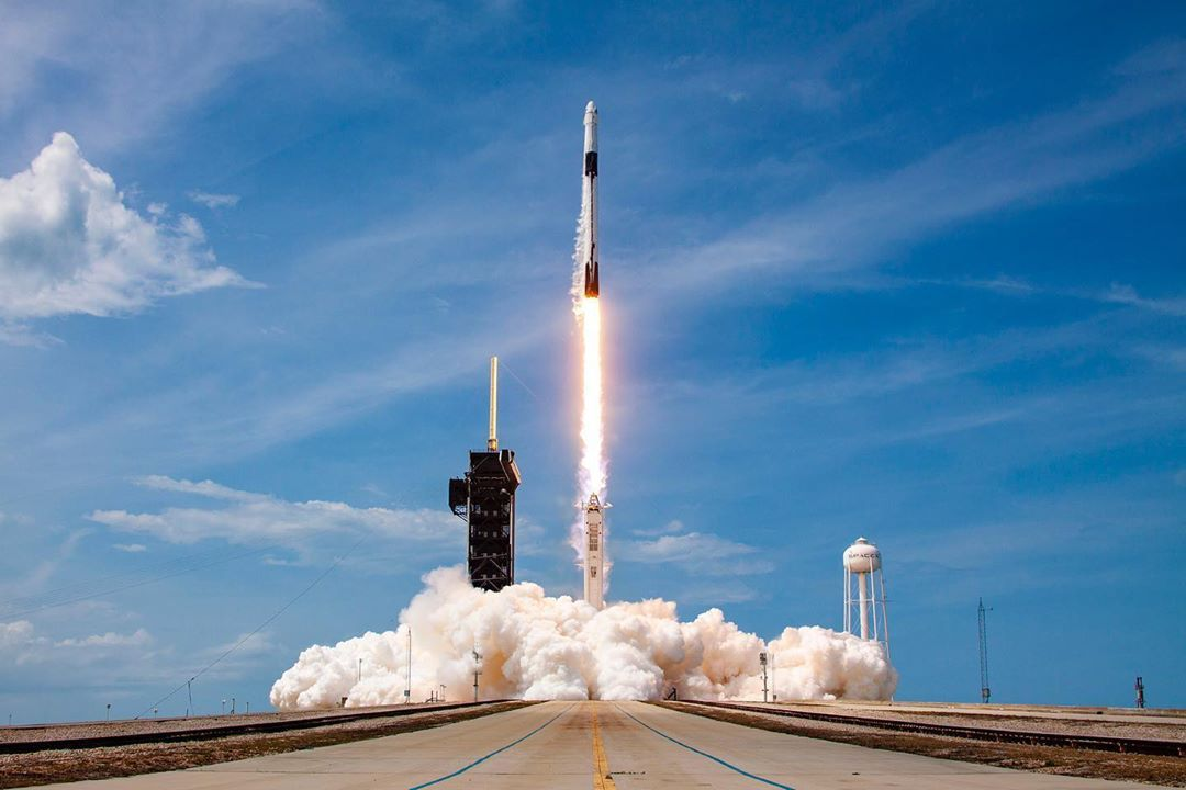 Elon Musk's SpaceX Is The First Private Company To Send Humans Into Space