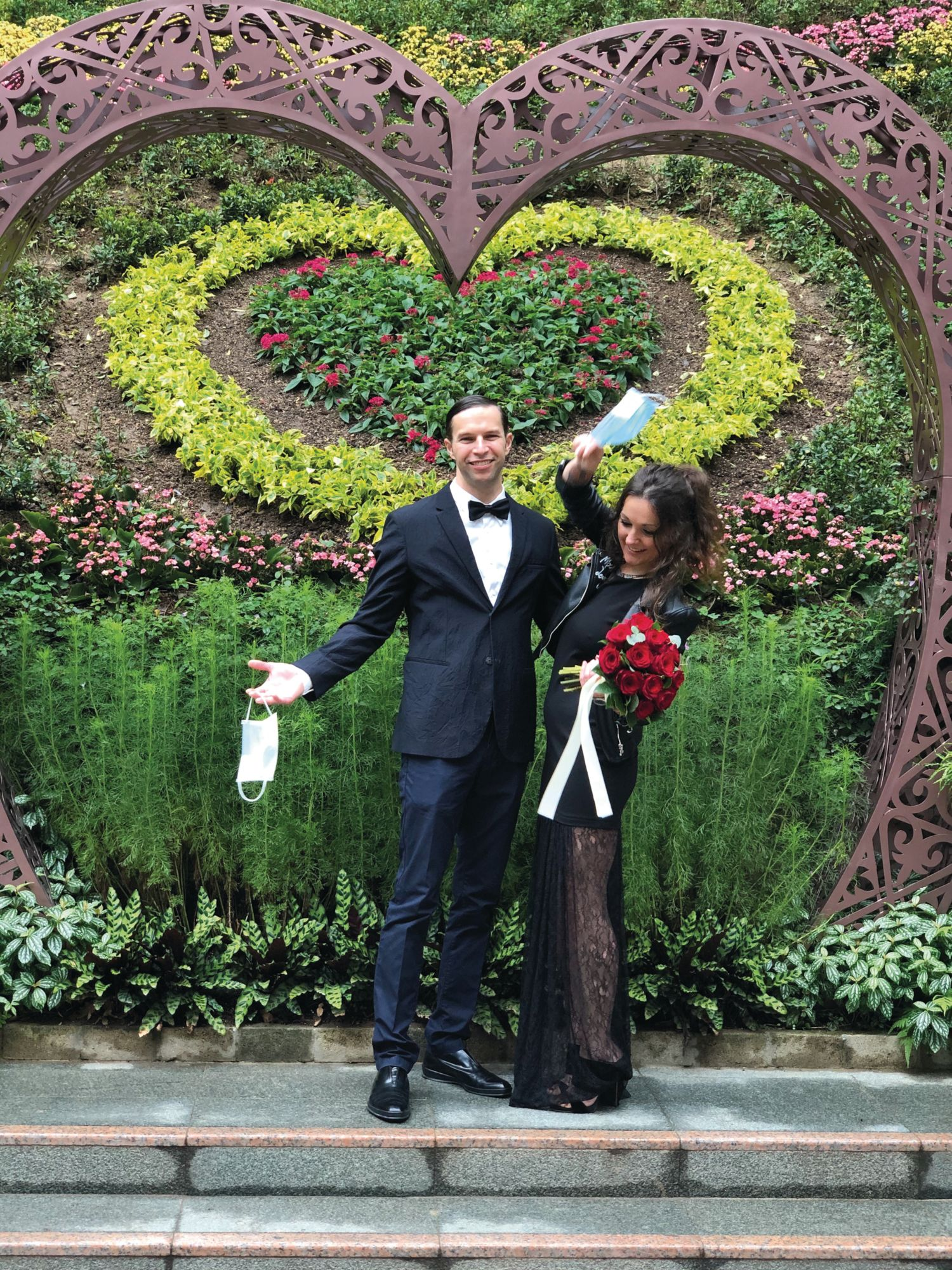 Love In The Time of Corona: Max Levy And Izaskun Fontanals' Wedding