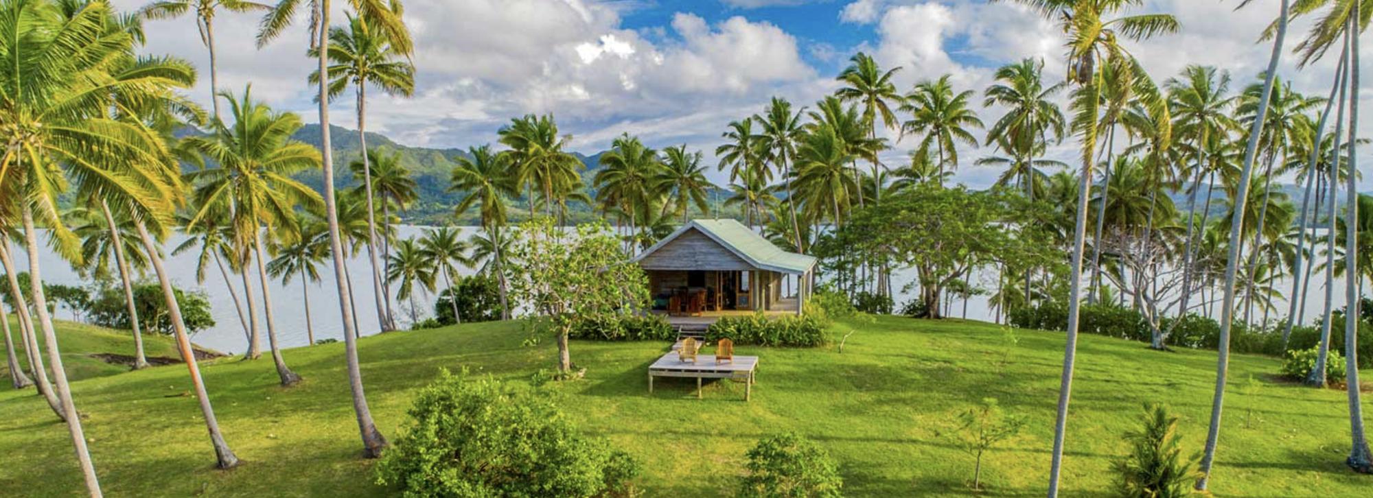 Đảo tư nhân bình dị này ở Fiji sắp đấu giá