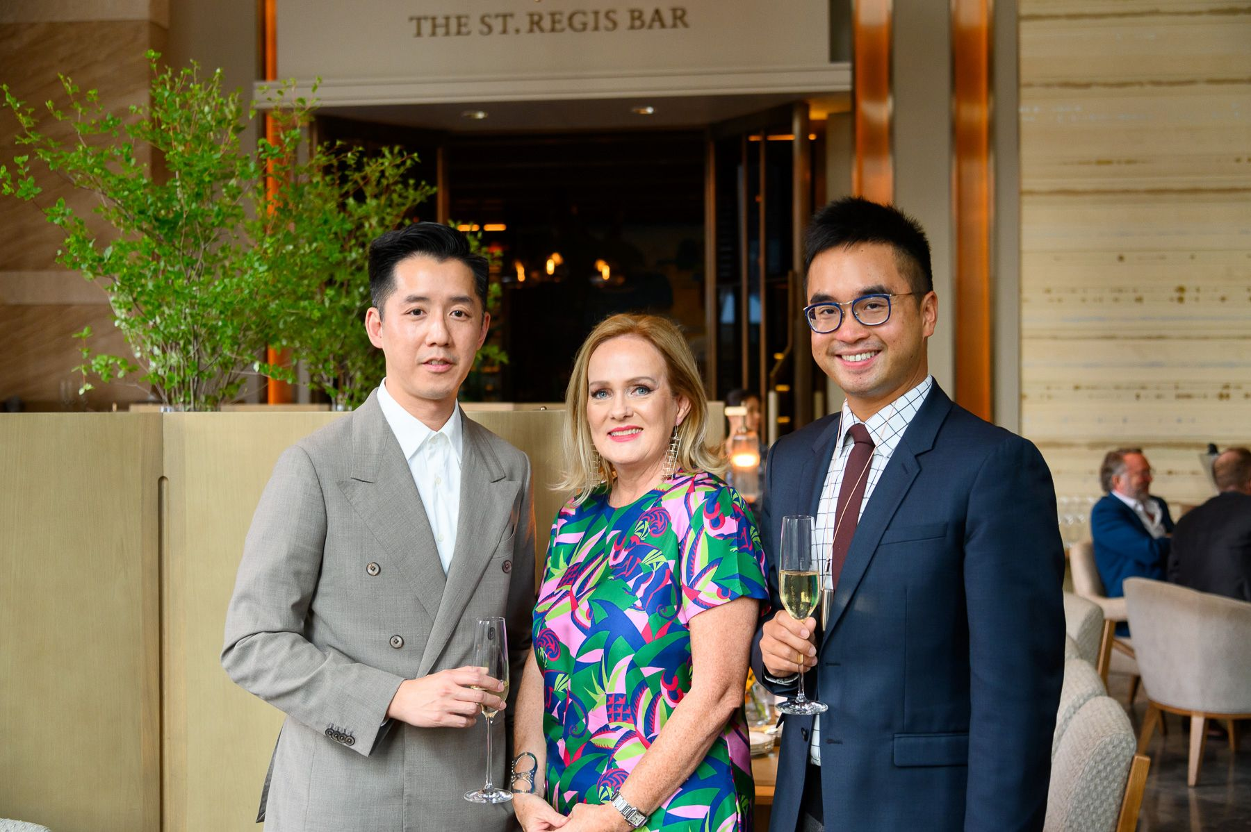André Fu, Catherine Shaw, Adrian Cheng