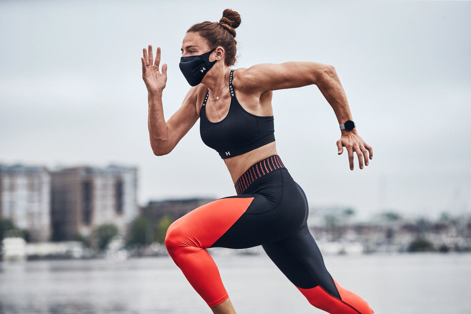 Under Armour Designs A Face Mask For Your Workout