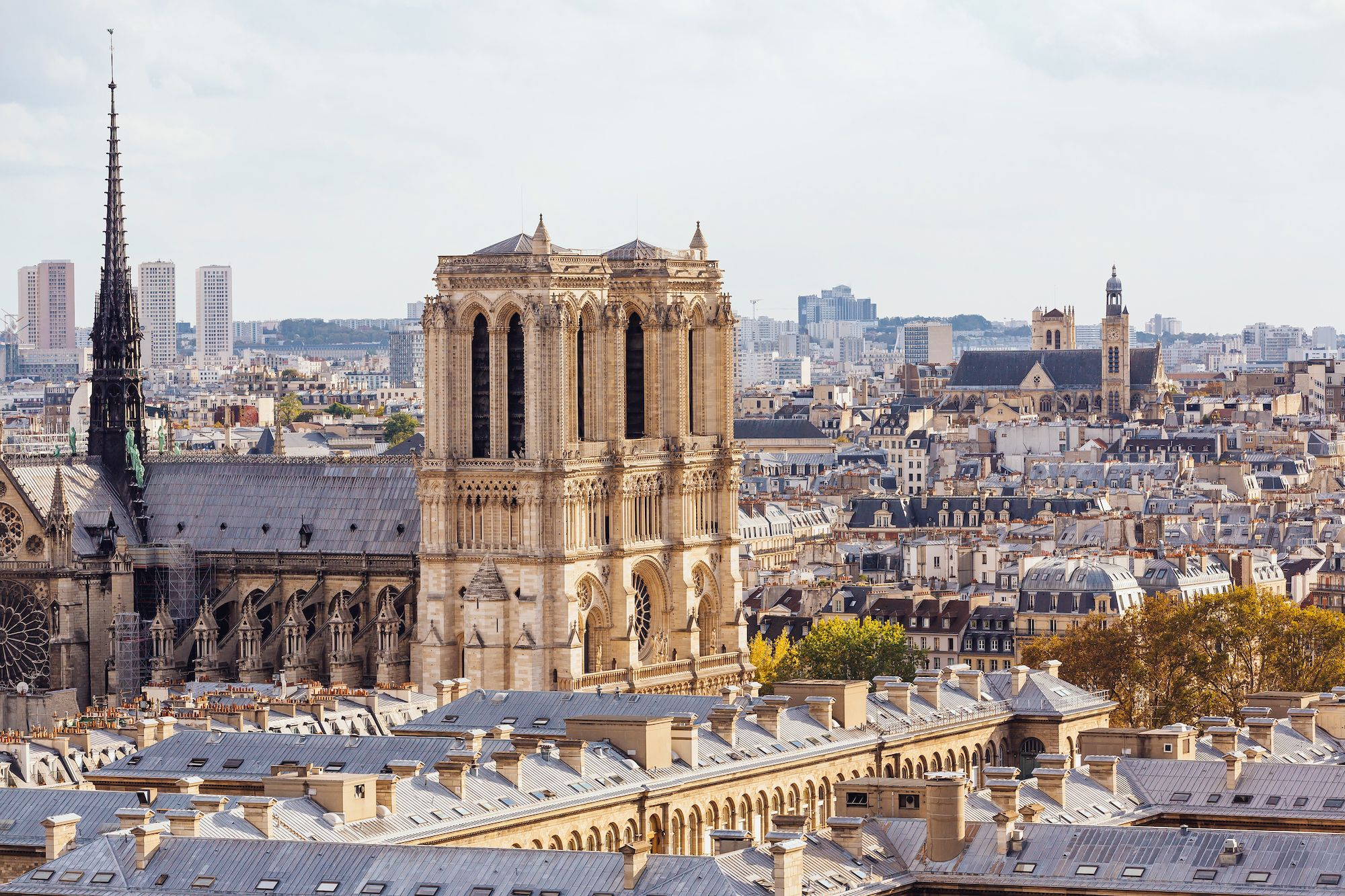 Notre Dame Cathedral To Be Re-Built Exactly As It Was Before The Fires