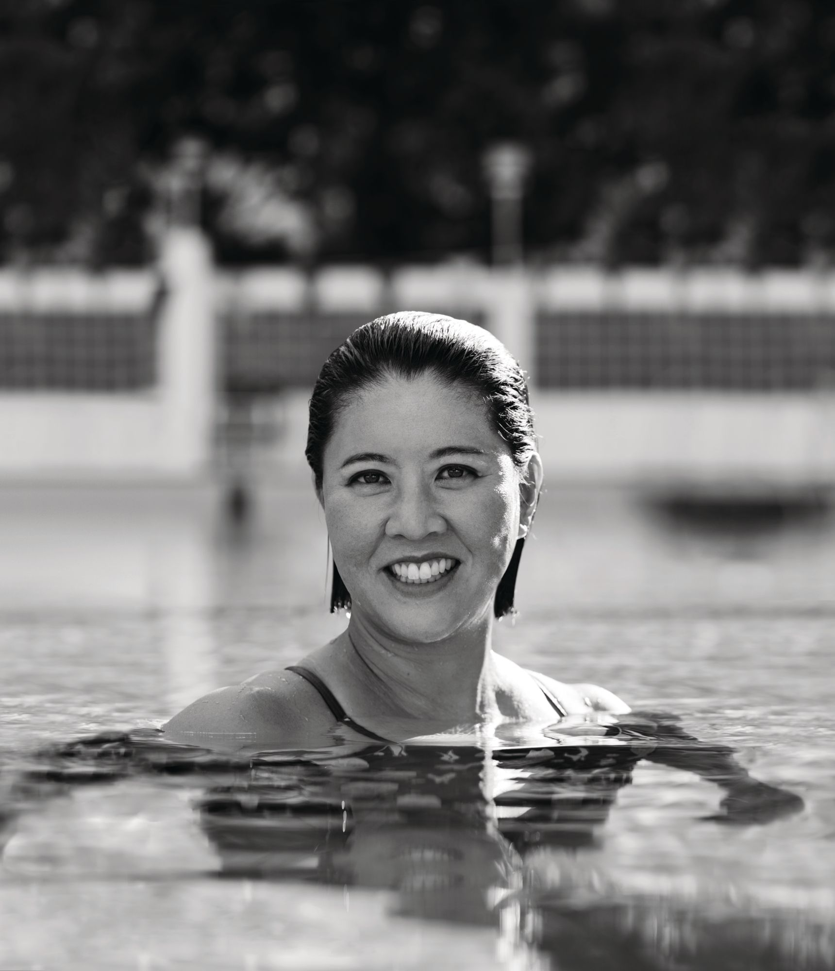 Open-water Swimmer Edie Hu Shares Her Beauty Routine