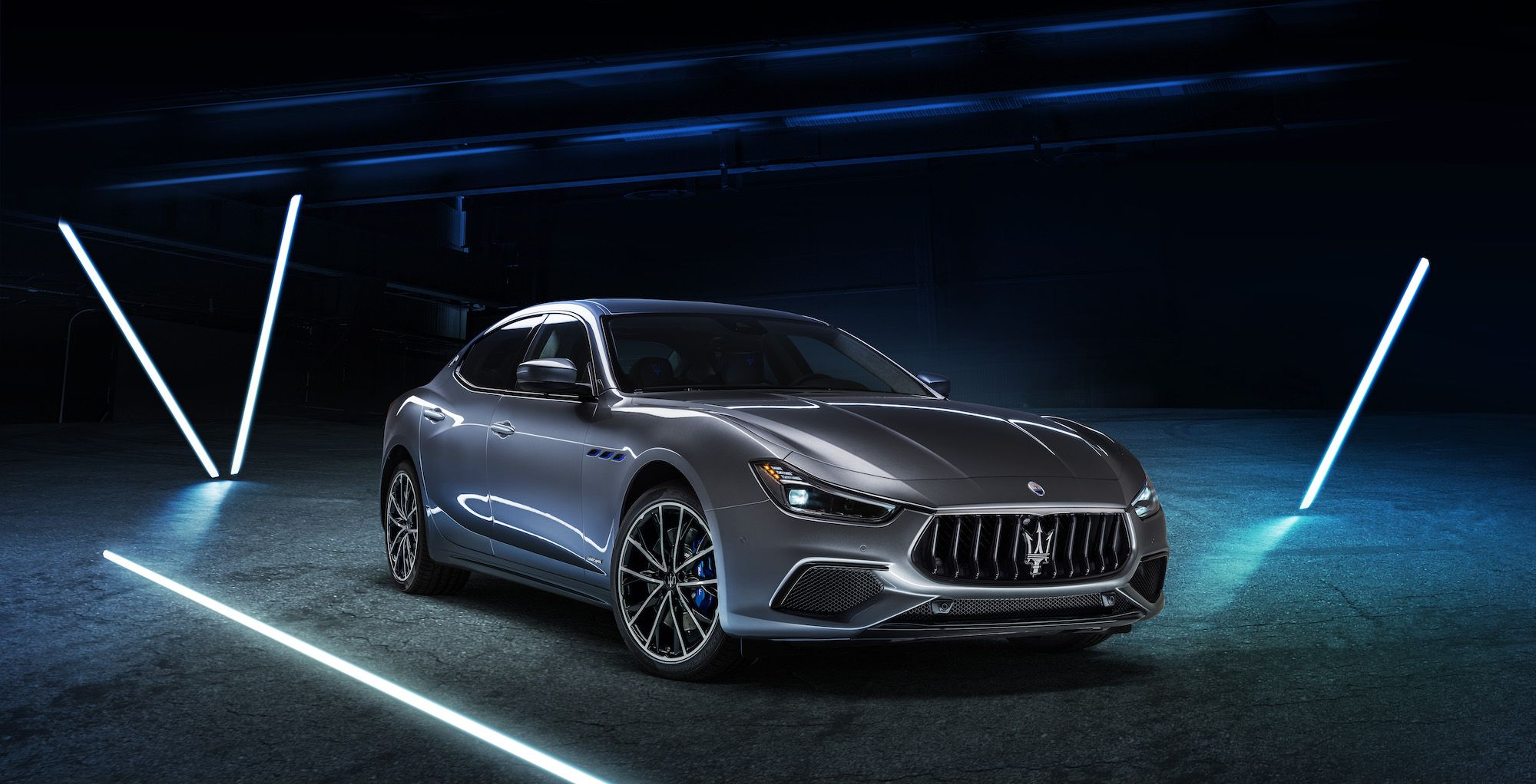 Maserati Unveiled Its First Ever Electric Vehicle — And It's Just As Luxe As You'd Imagine