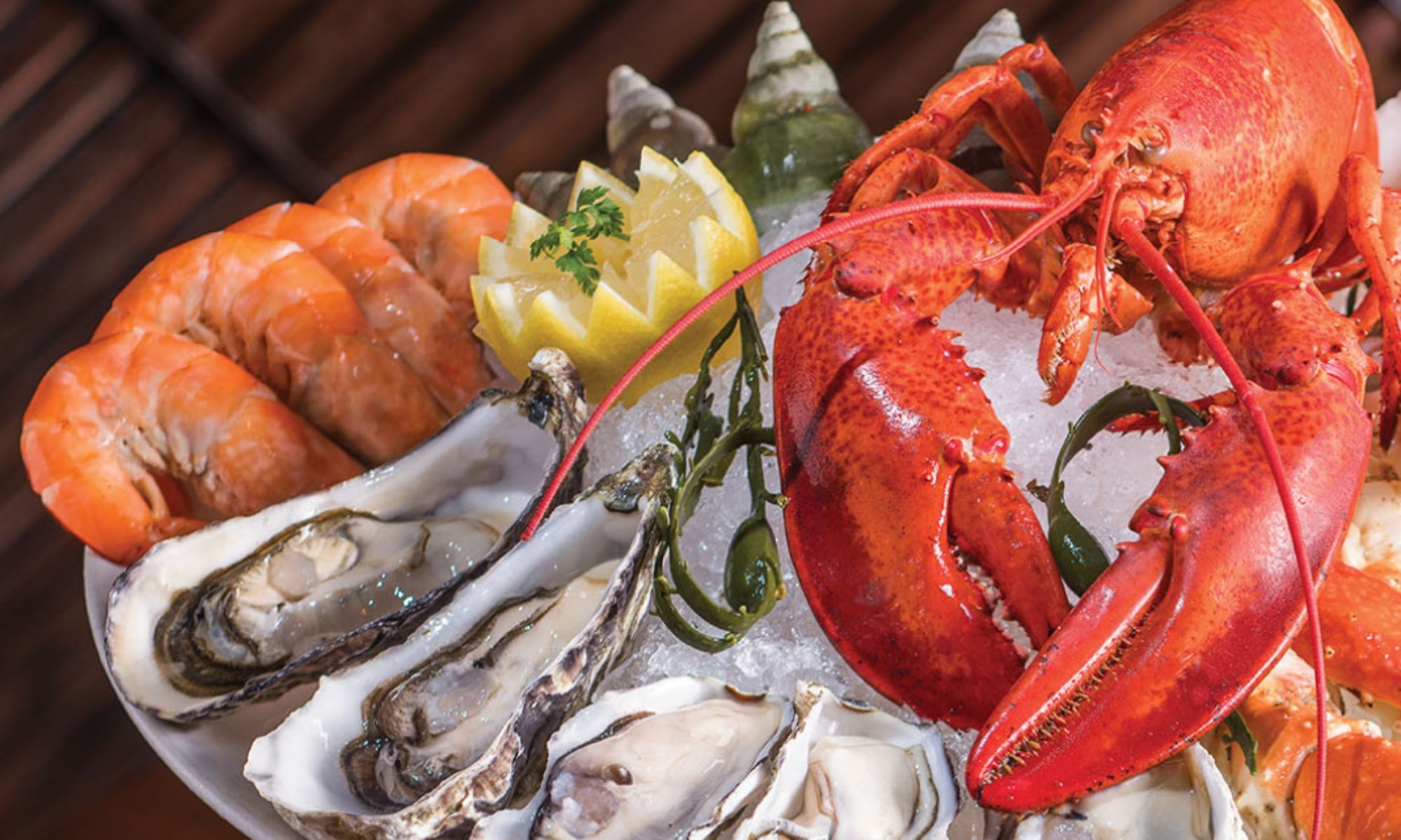Bostonian Seafood & Grill offers Executive Power Lunches