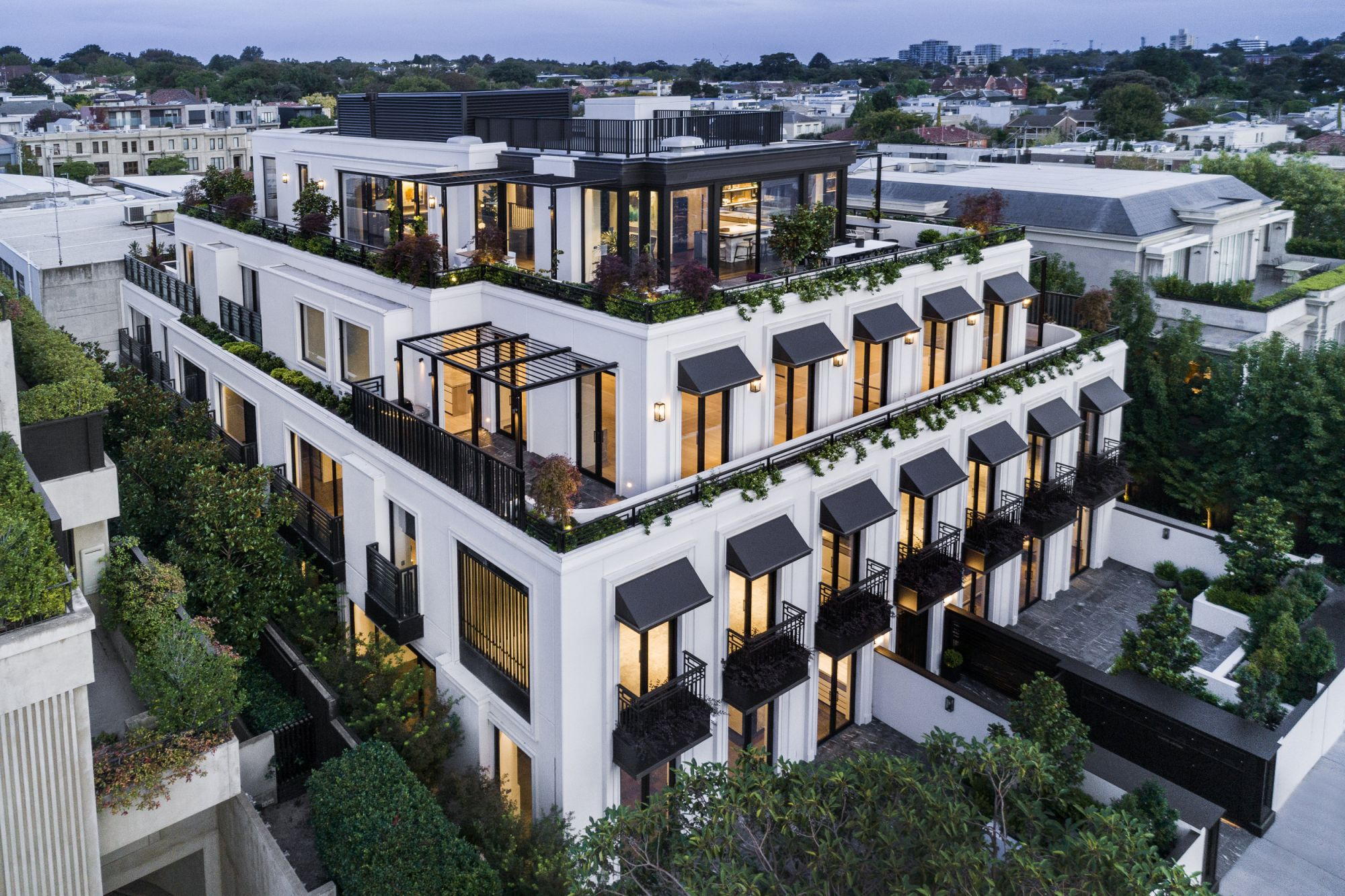 Transcendent Luxury Living: The Penthouse at Palais Toorak