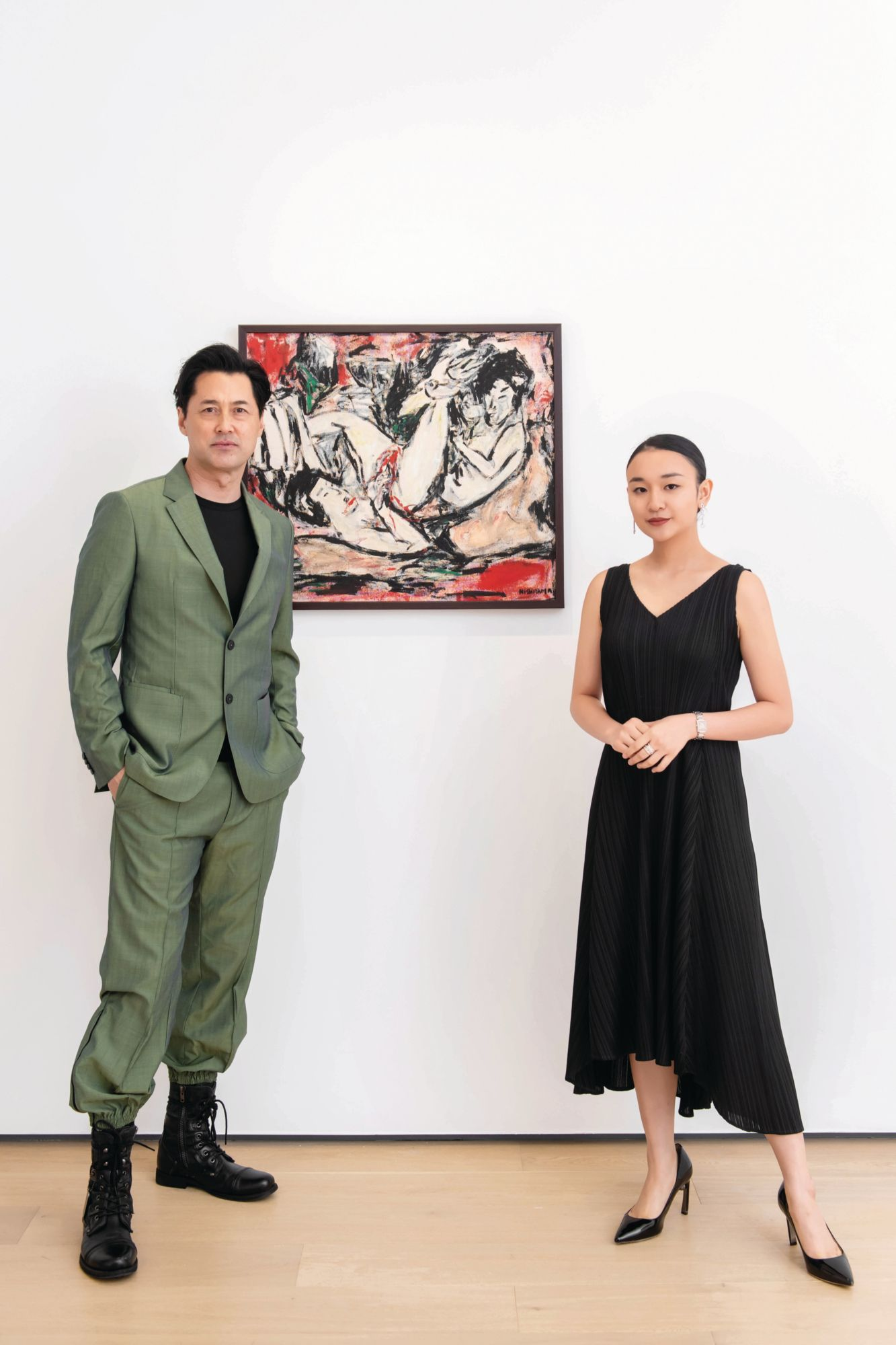 Michael Wong And Mizuki Nishiyama Launch An Art Exhibition To Raise Funds For Operation Smile