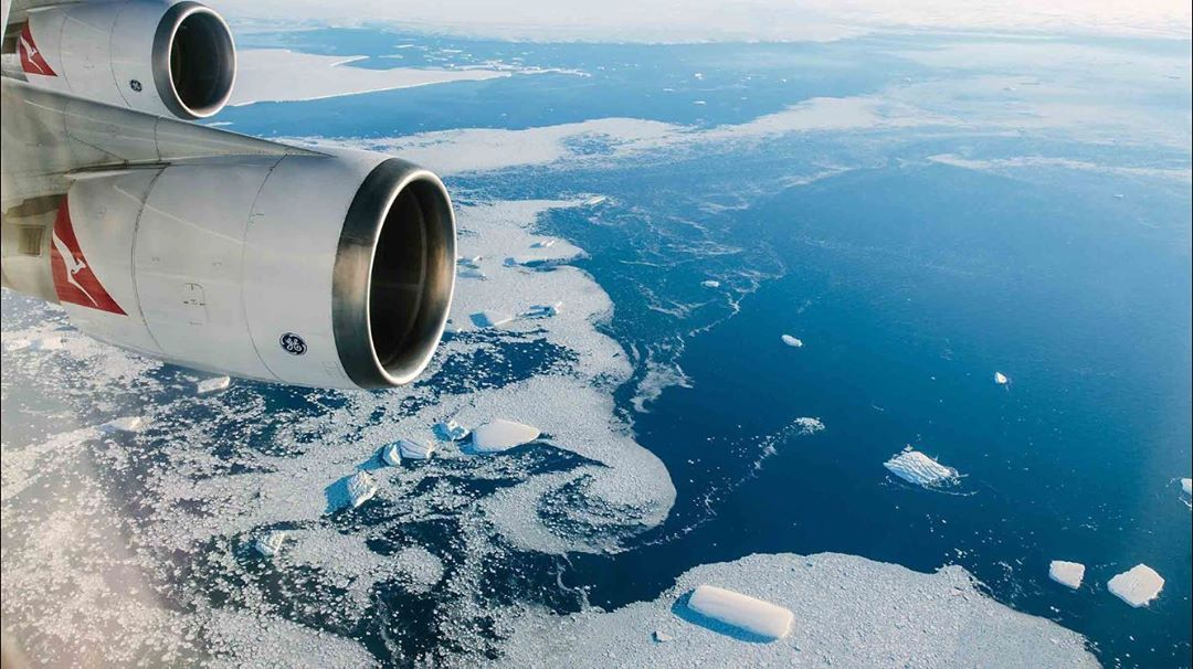 Qantas' Sightseeing Flights Over Antartica To Resume This November
