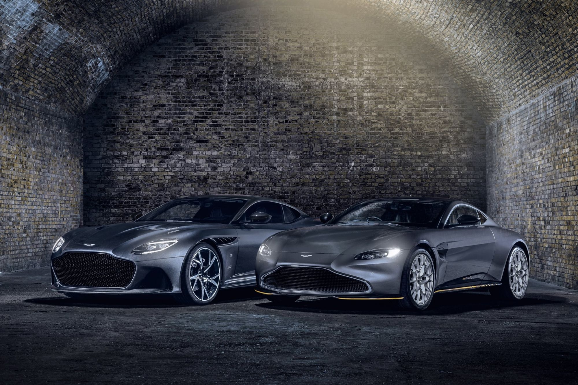 Aston Martin Unveils New James Bond-Inspired Sports Cars