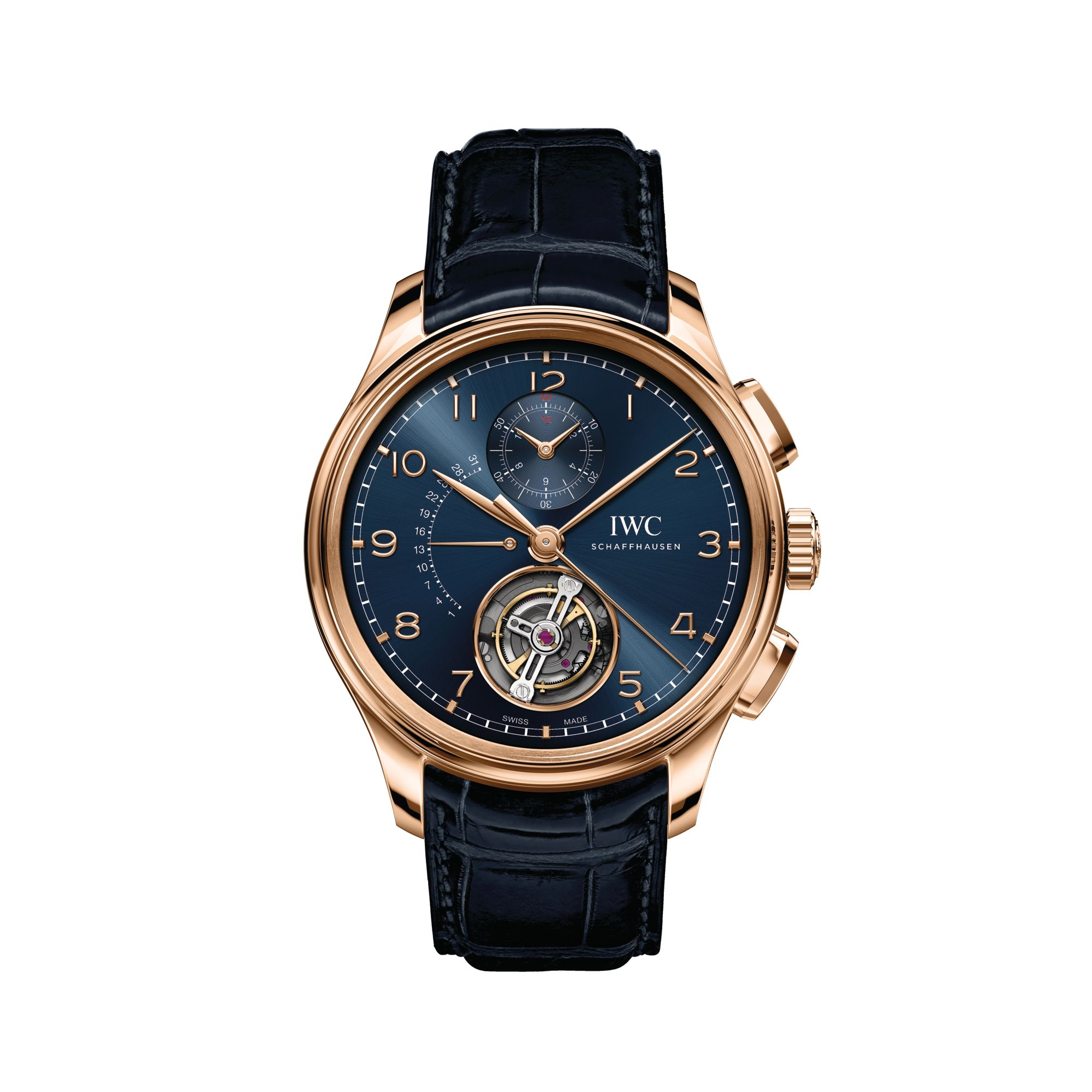Everything You Need To Know About The Portugieser Tourbillon Rétrograde Chronograph By IWC Schaffhausen