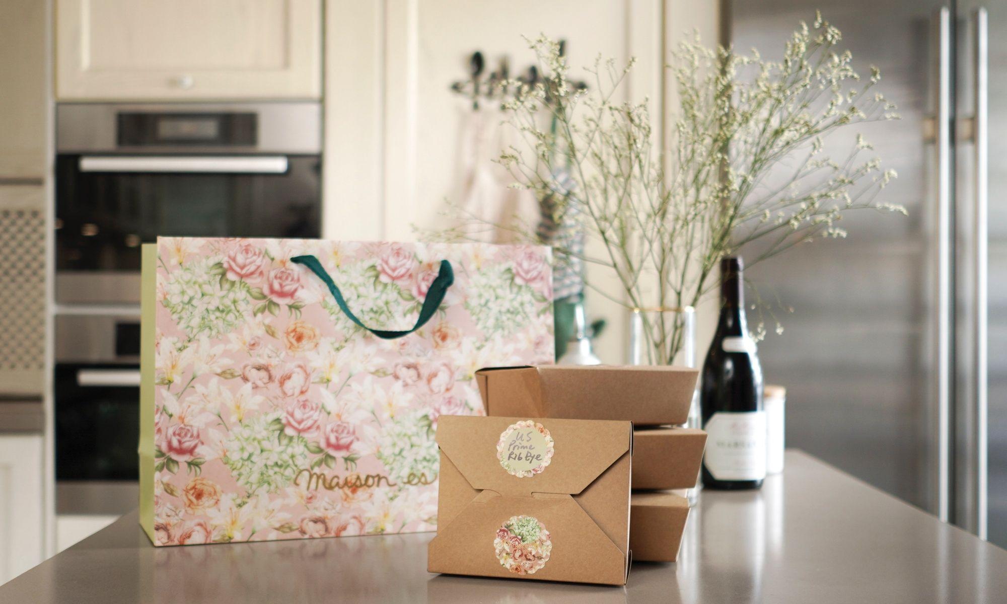 Maison Es Launches New Three-Course Home Cook Set Menu