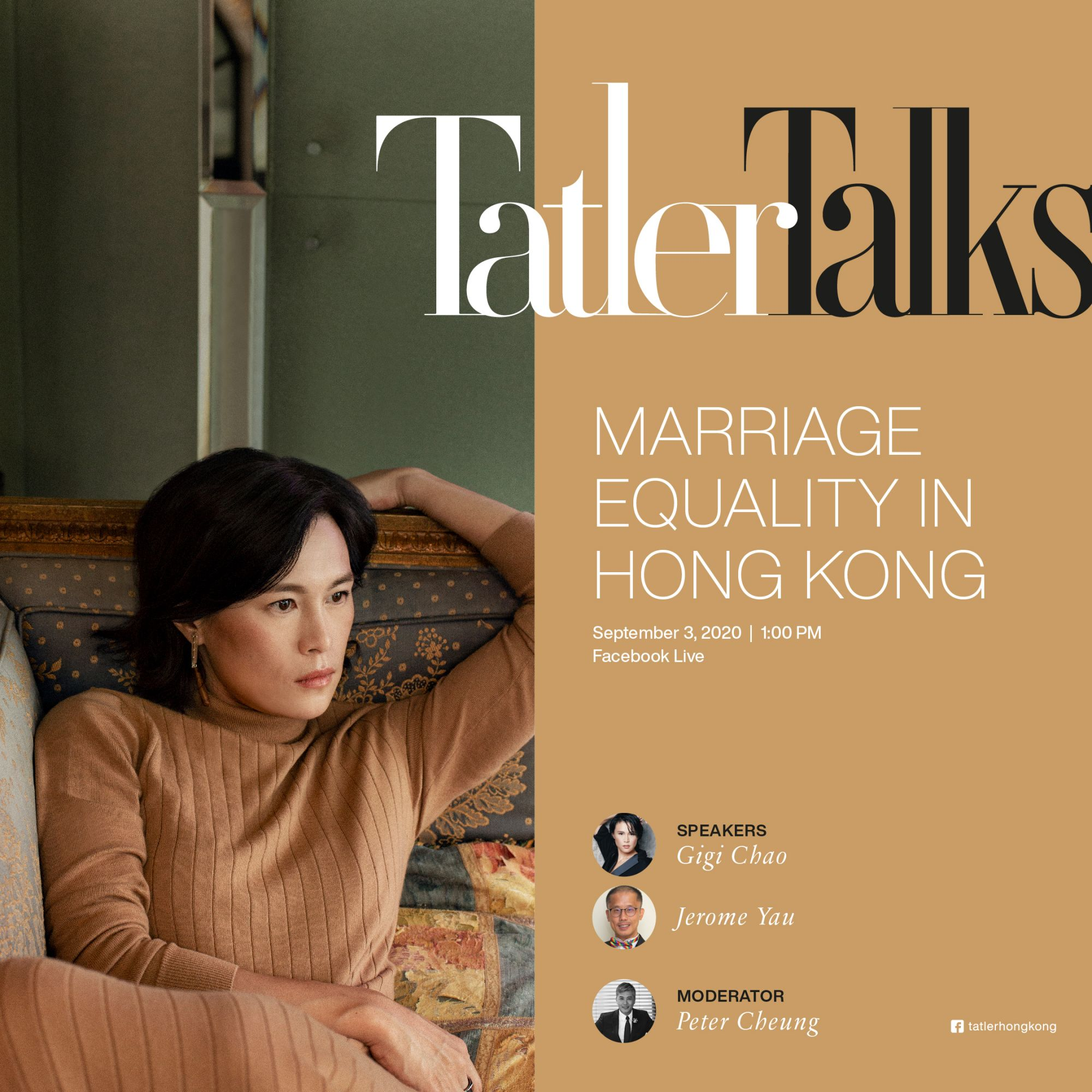 Tatler Talks: Live With Gigi Chao, Jerome Yau and Peter Cheung