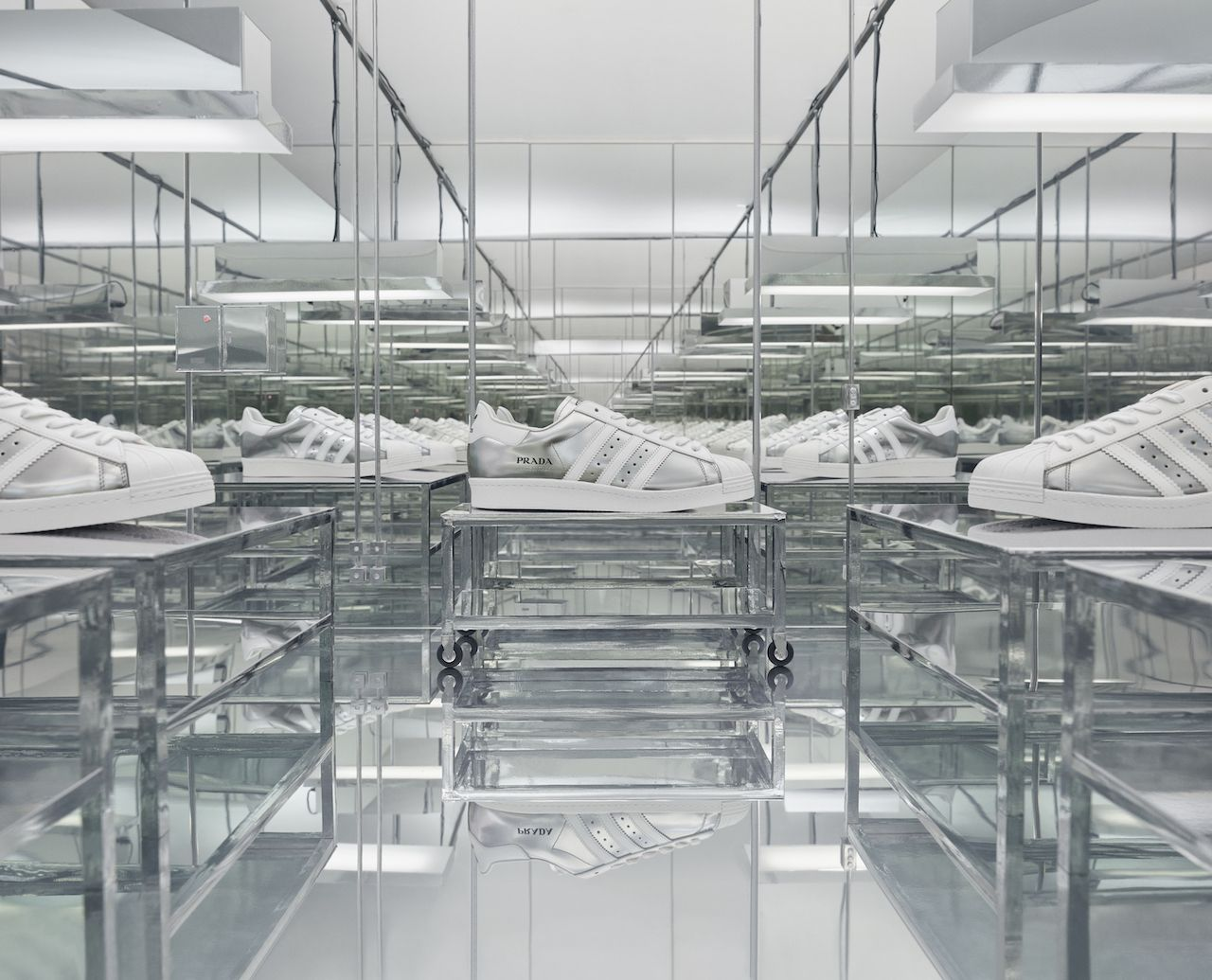 The Second Prada X Adidas Collaboration Drops Next Week