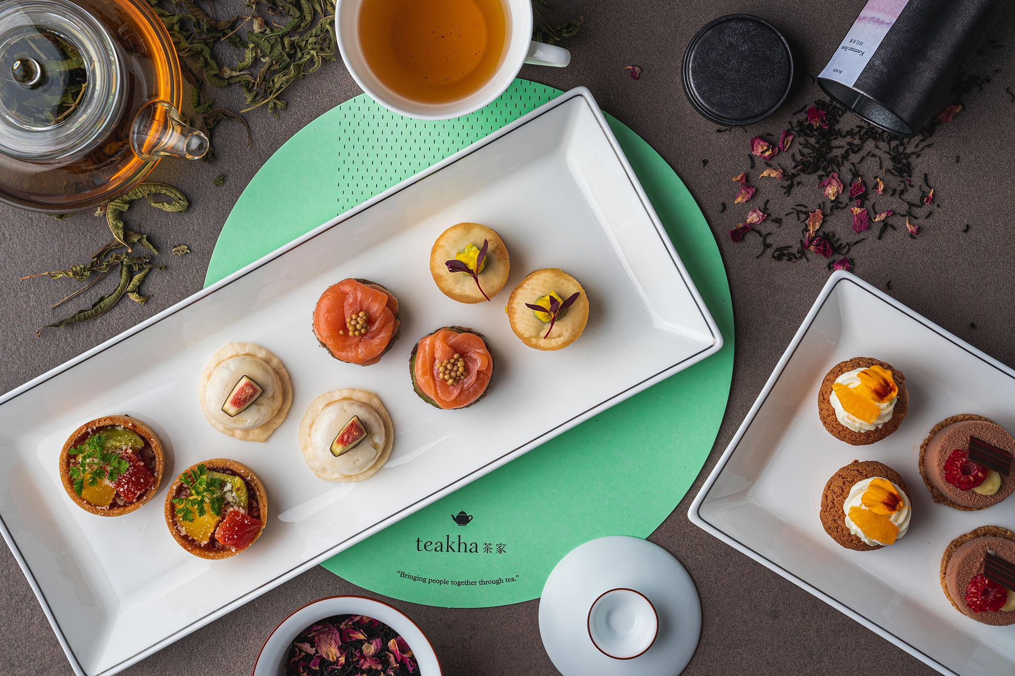 Cafe Gray Deluxe Debuts New Afternoon Tea With Teakha