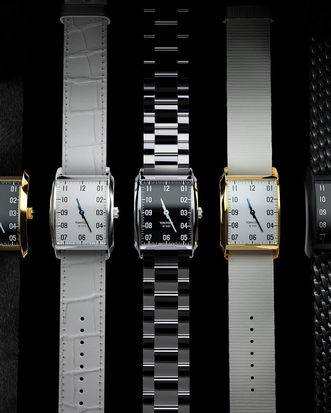 Tom Ford Introduces Eco-Friendly Watch Made From Recycled Ocean Plastic