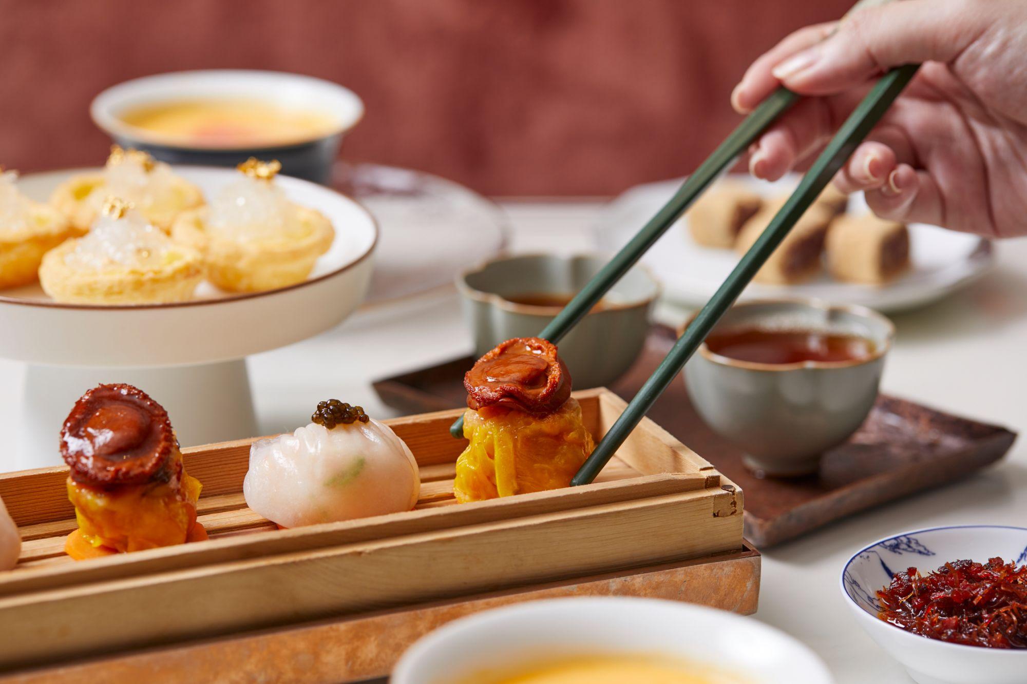 Holt's Café's New Menu Marries Dim Sum Favourites With Afternoon Tea