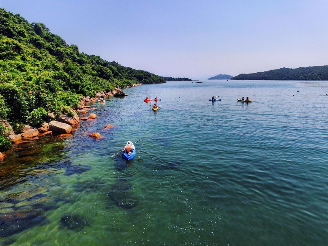 Where To Kayak In Hong Kong