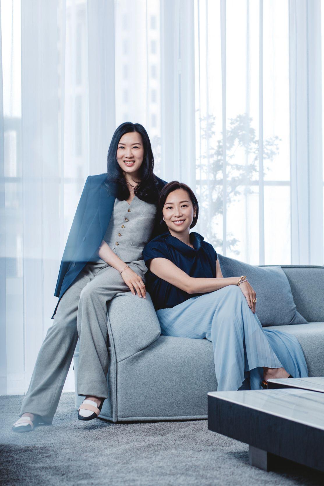 Yenn Wong and Joyce Tam for La Prairie