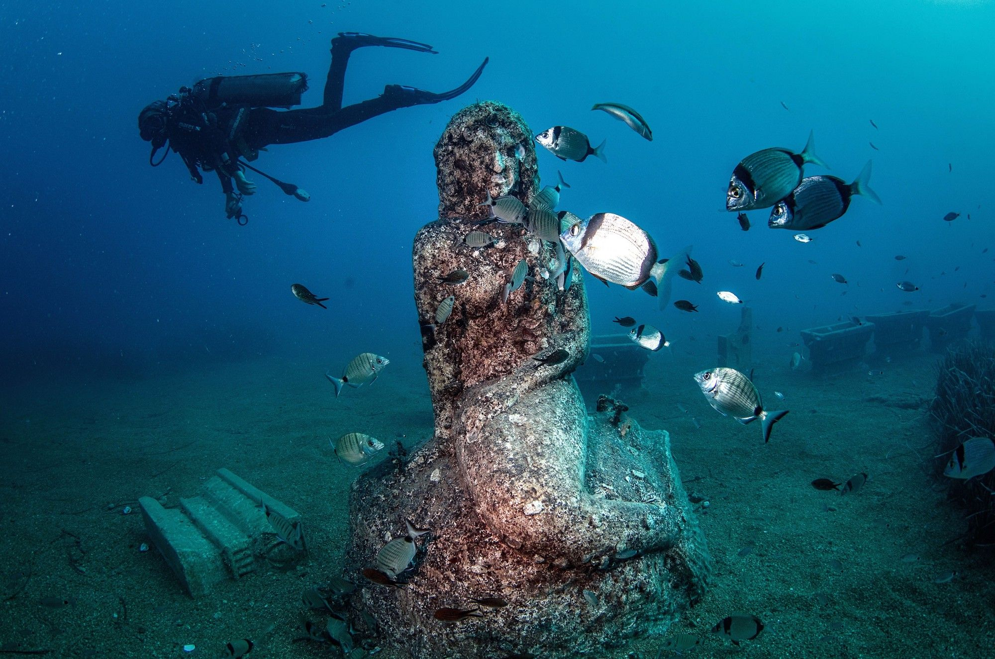 These 3 Underwater Galleries In France Are An Adventurer's Dream