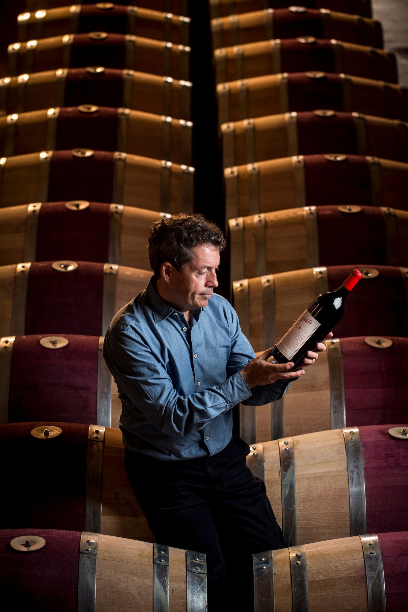 Penfolds  chief winemaker Peter Gago at the spiritual home of Penfolds and Grange, Magill, South Australia.