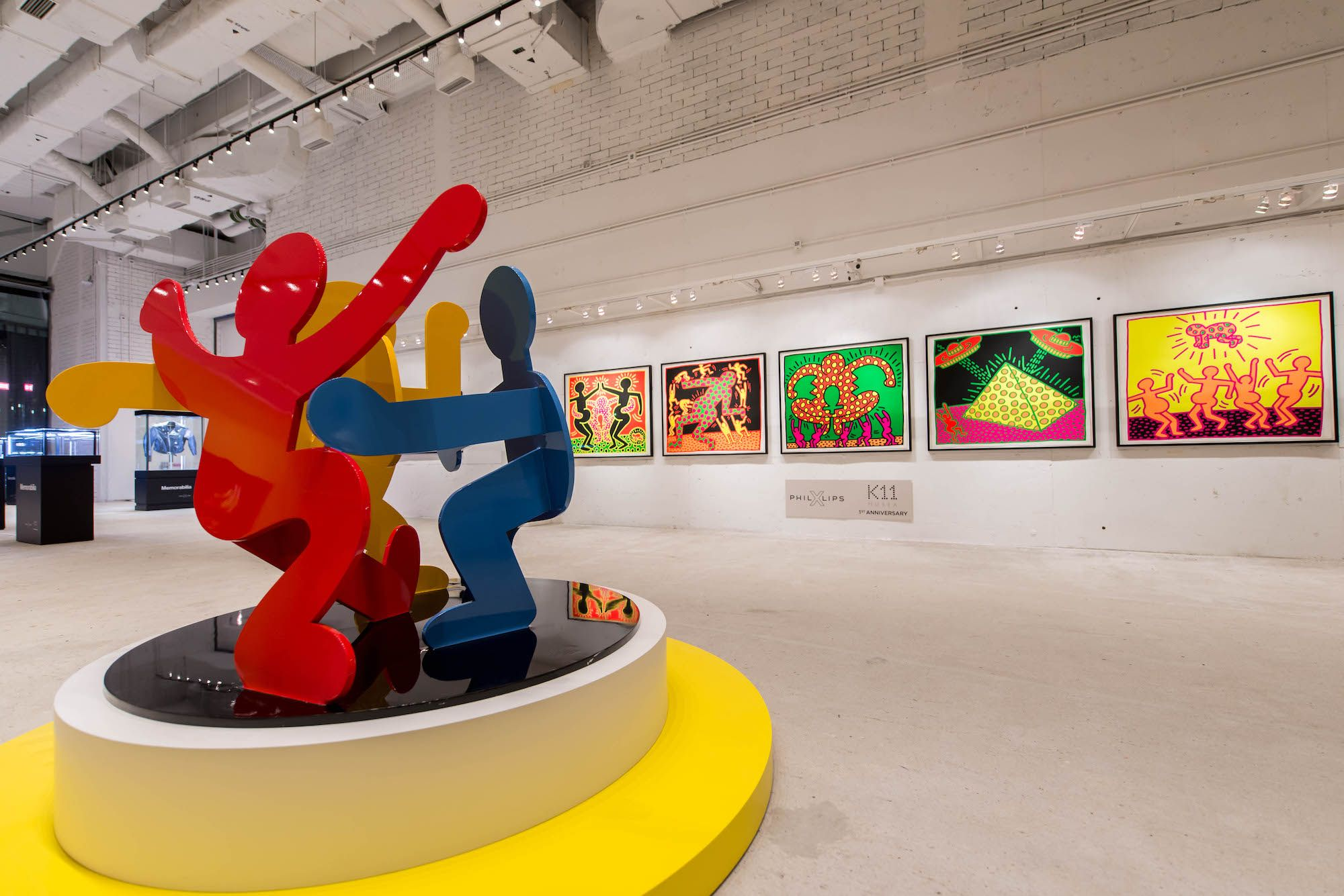 First Look: Phillips Opens A Keith Haring Exhibition At K11 Musea