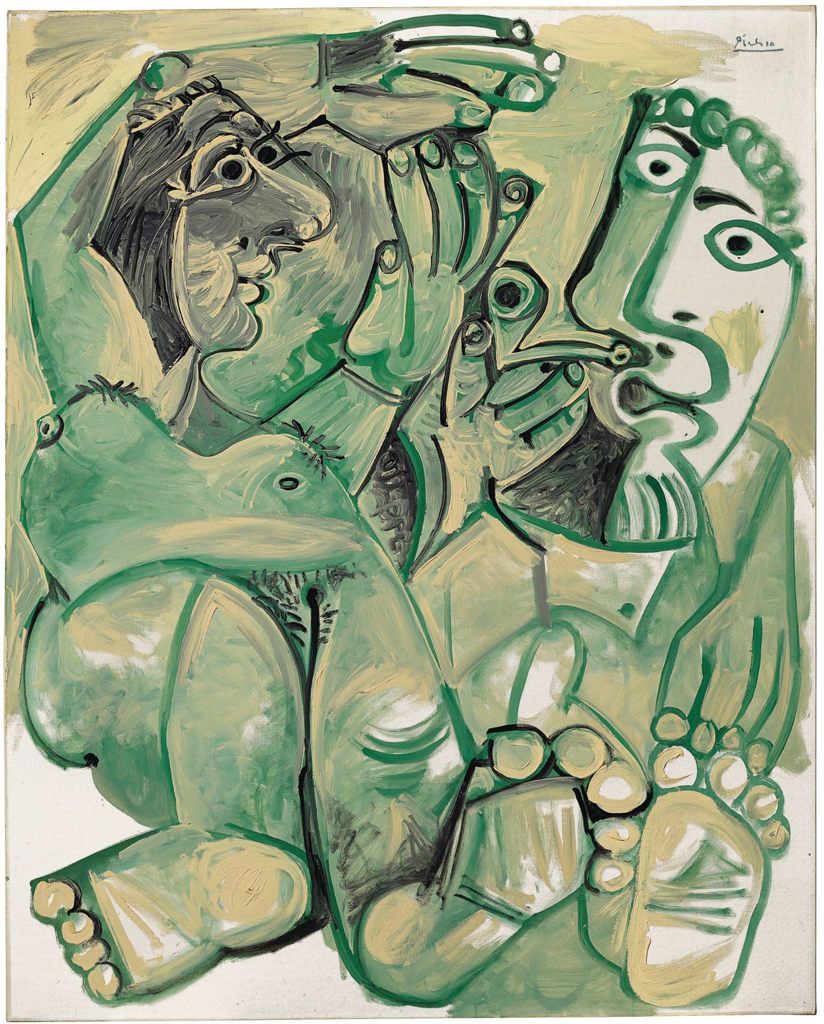 Hommes et femmes nu (1968) by Pablo Picasso