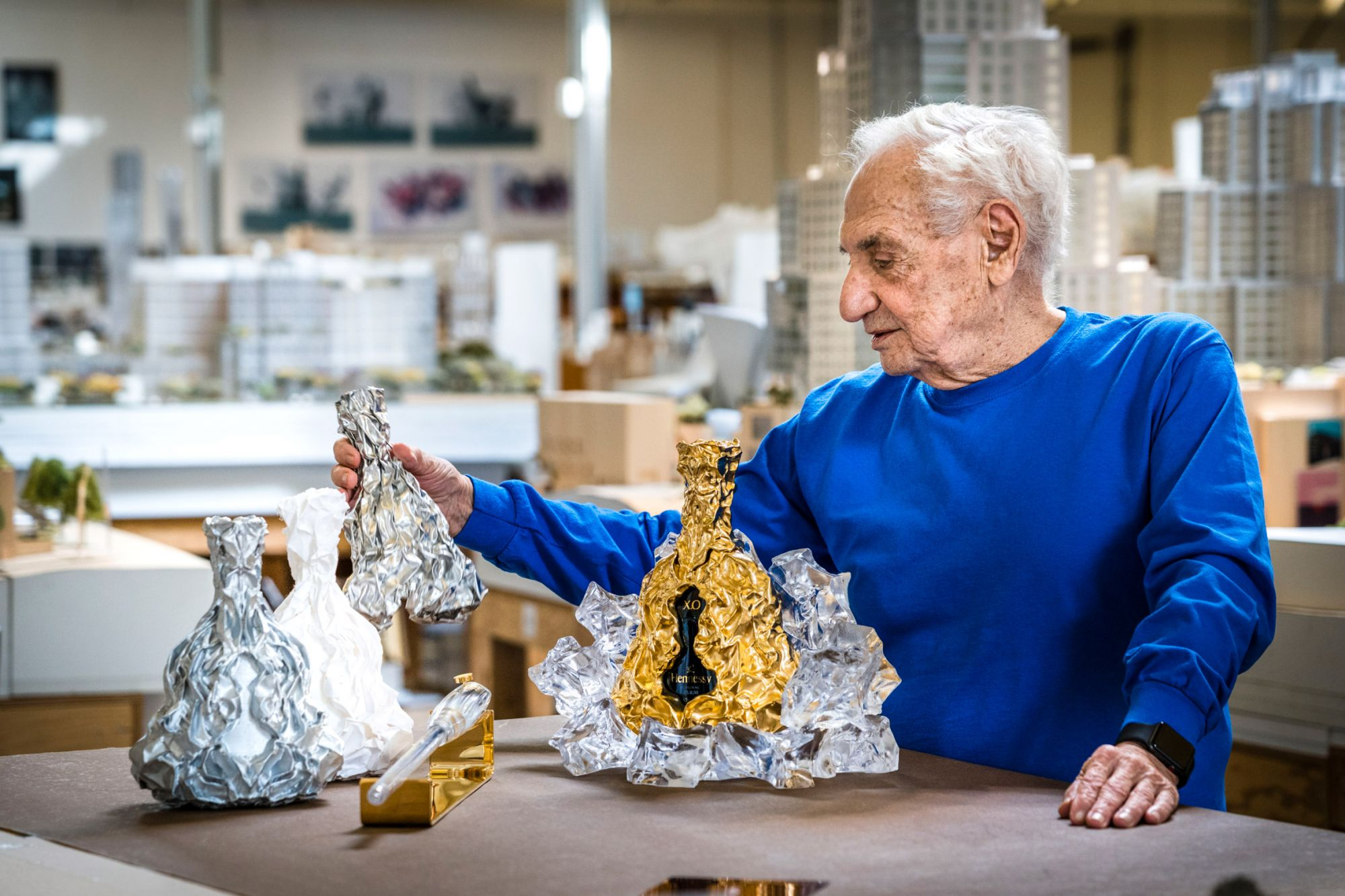 Frank Gehry Shares What Inspired His Limited Edition Decanter For Hennessy XO's 150th Anniversary