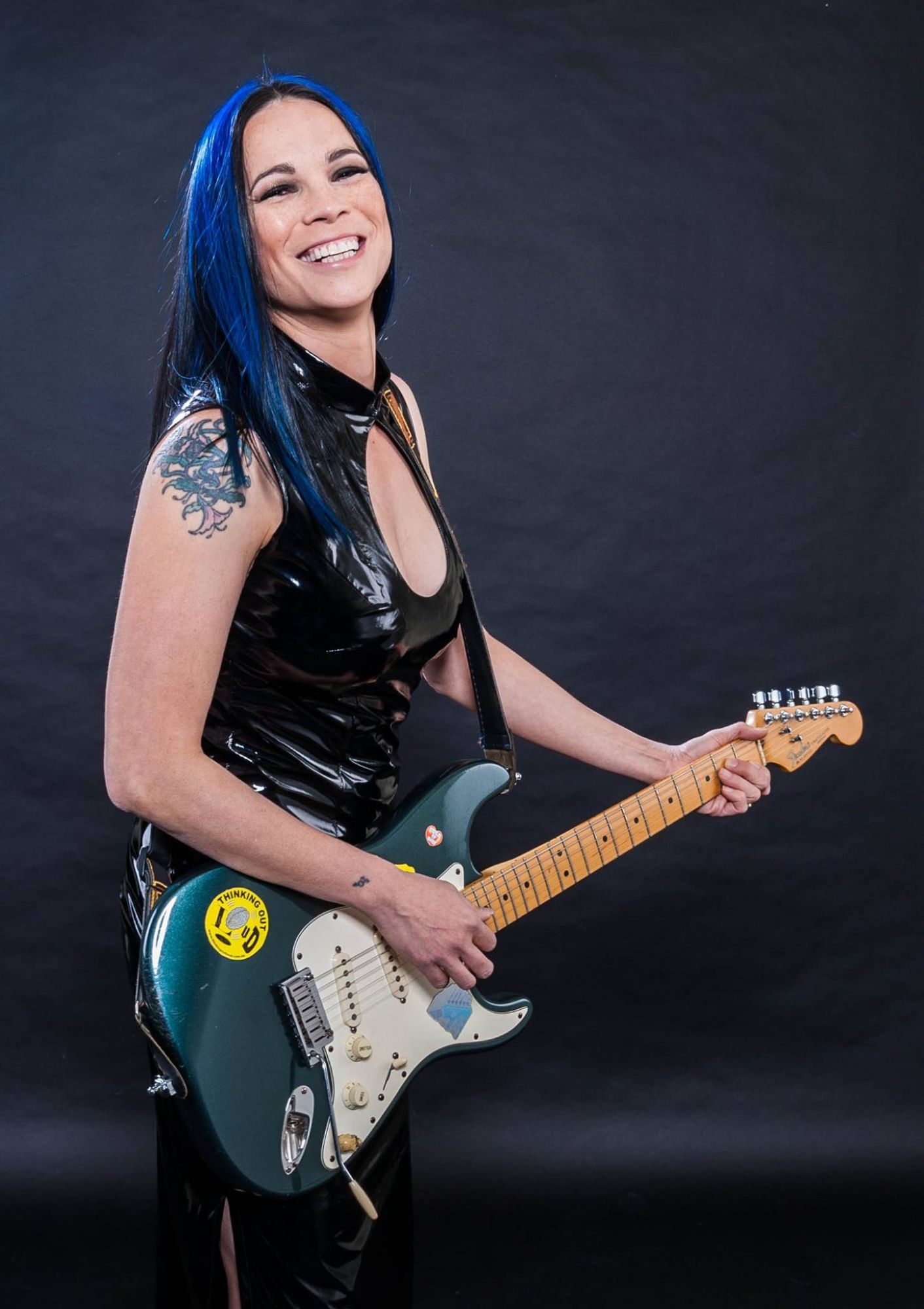 "Chris B has been dubbed ""the tattooed fairy godmother of Hong Kong's music scene"""