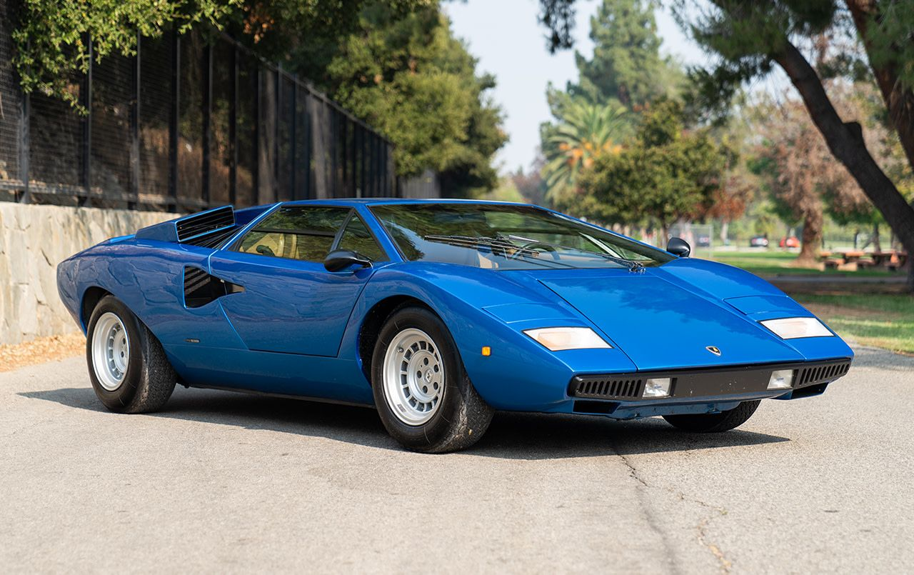 This Rare Lamborghini Supercar From The '70s Is Up For Auction At US$1M
