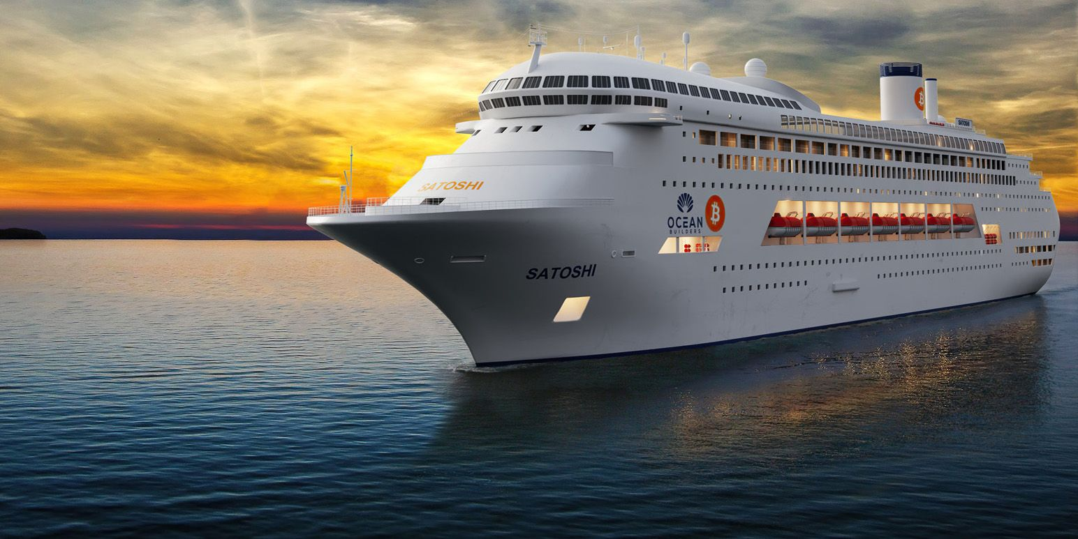 This Cruise Ship Is Being Converted Into A Luxury Floating Condo Complex