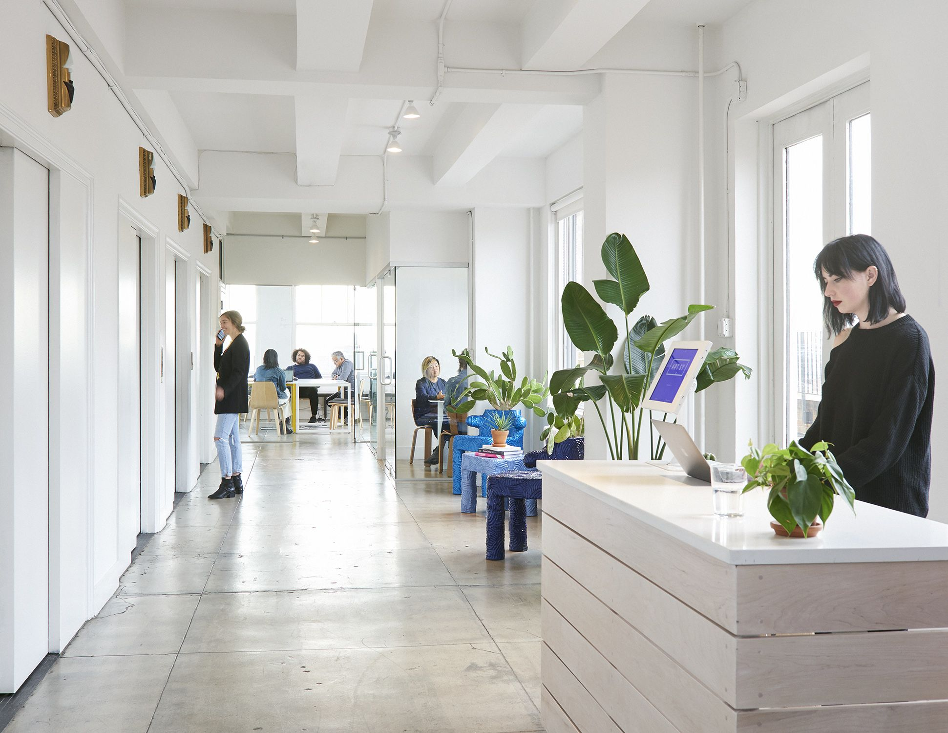 Artsy's offices in New York