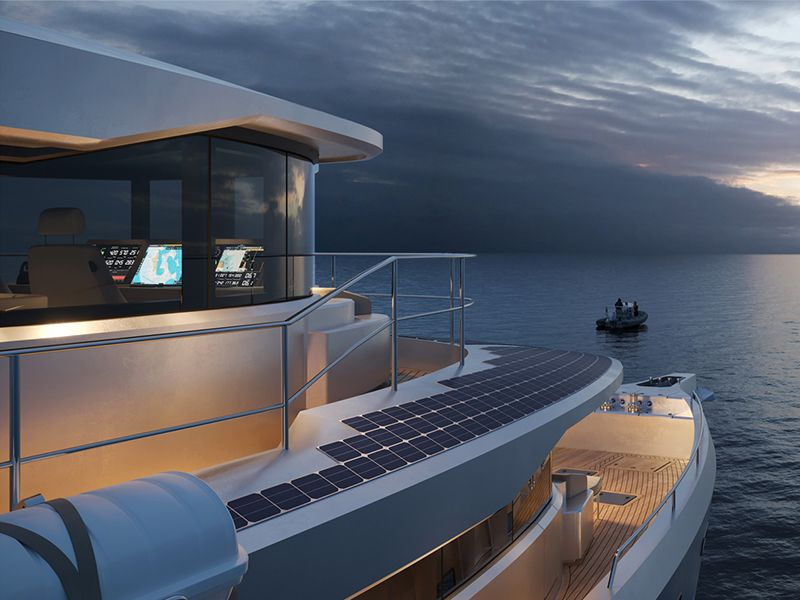 This New Superyacht Is Crafted From Recycled Aluminium And Plastic Bottles