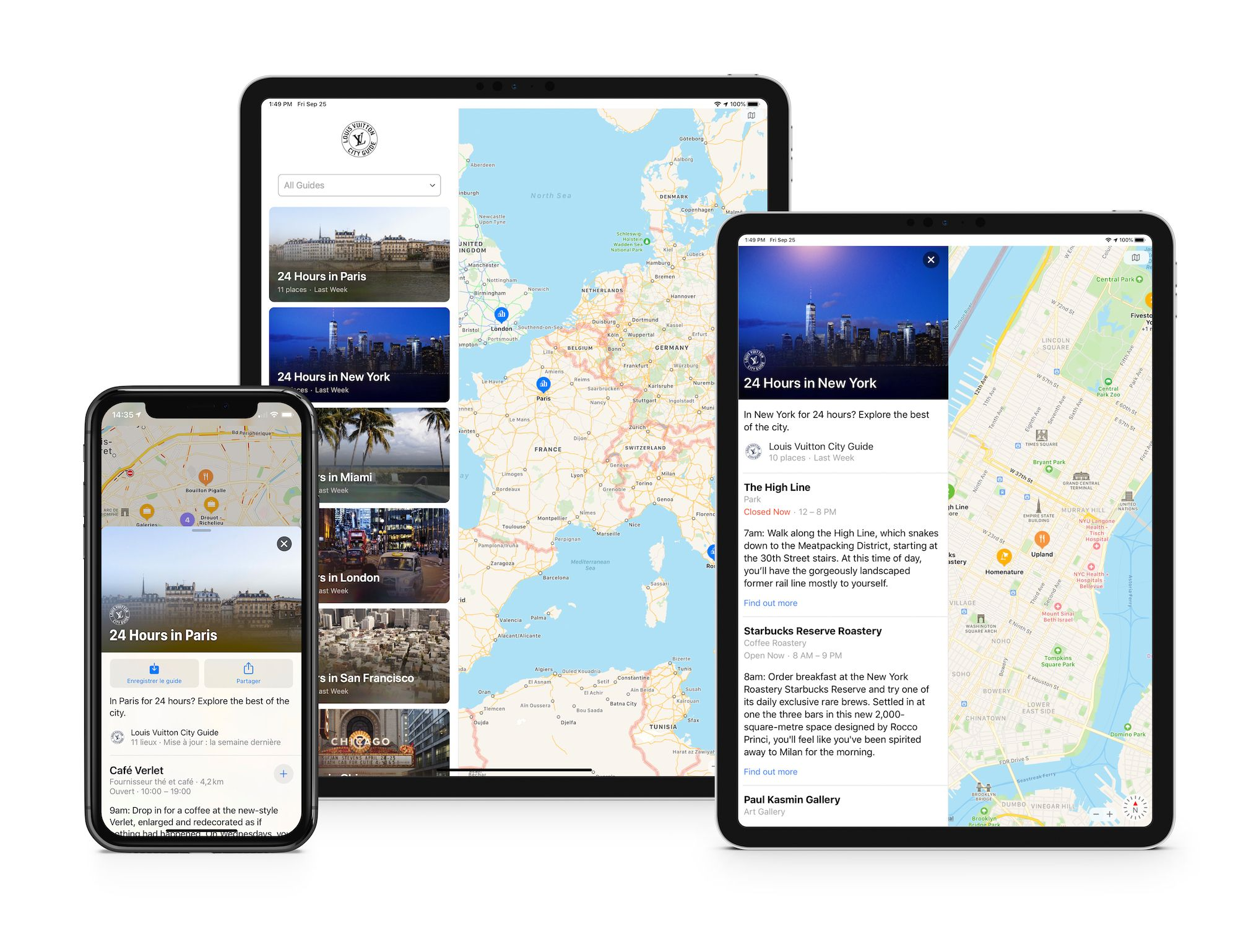 Louis Vuitton City Guide Now On Apple Maps