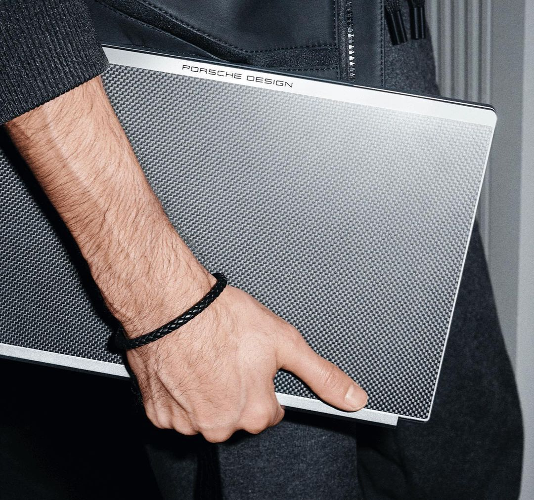 Porsche Designs Has Just Unveiled A Luxe New Carbon Fibre Laptop
