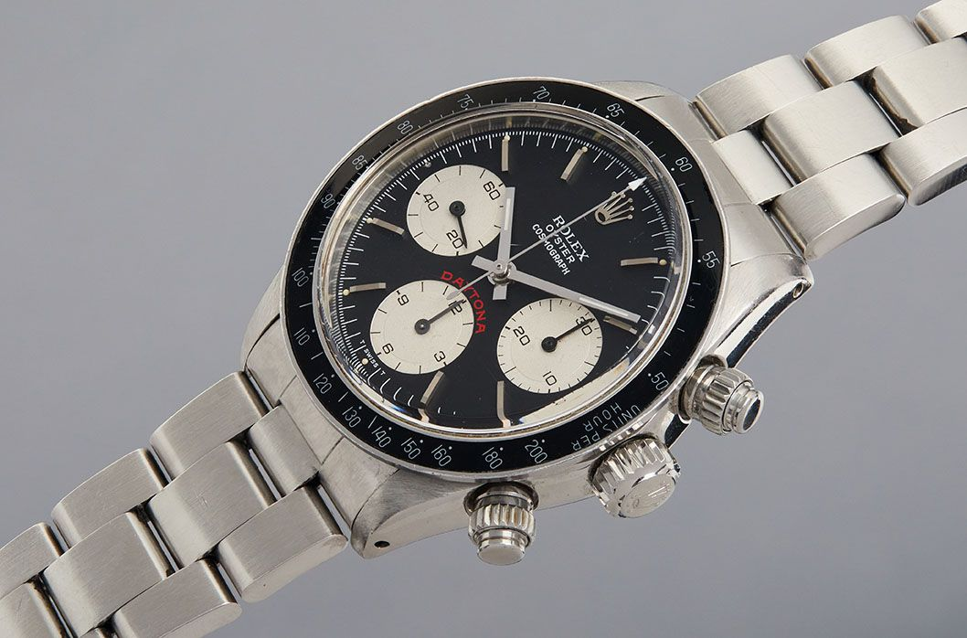Paul Newman's Rolex Oyster Cosmograph Daytona To Be Offered At Auction