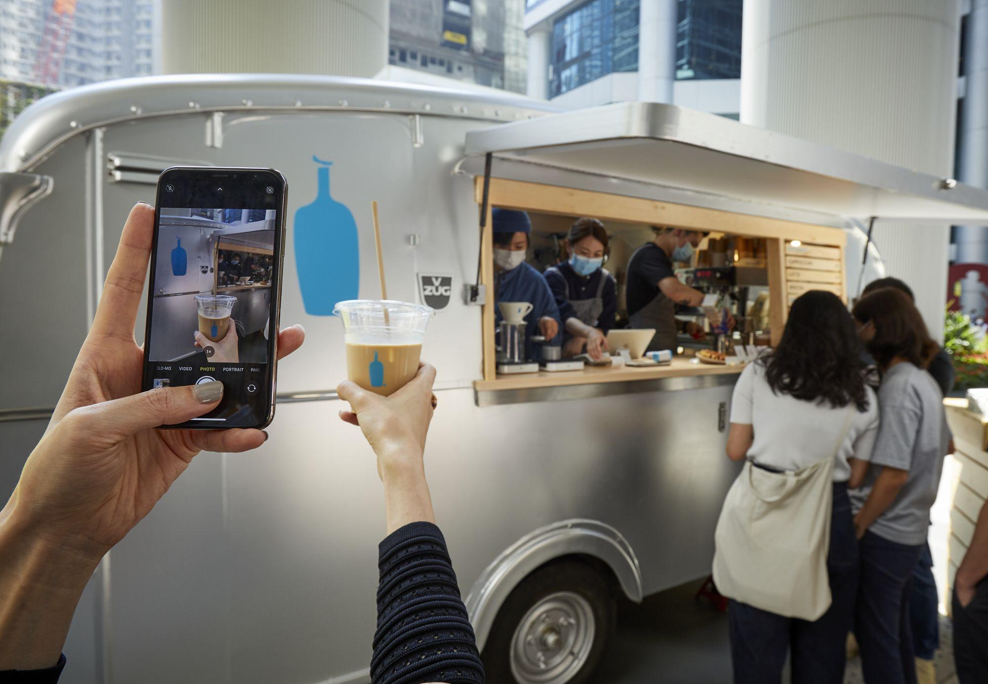 Tong Chong Street Market Returns Featuring Blue Bottle Coffee's First Pop-Up In Hong Kong