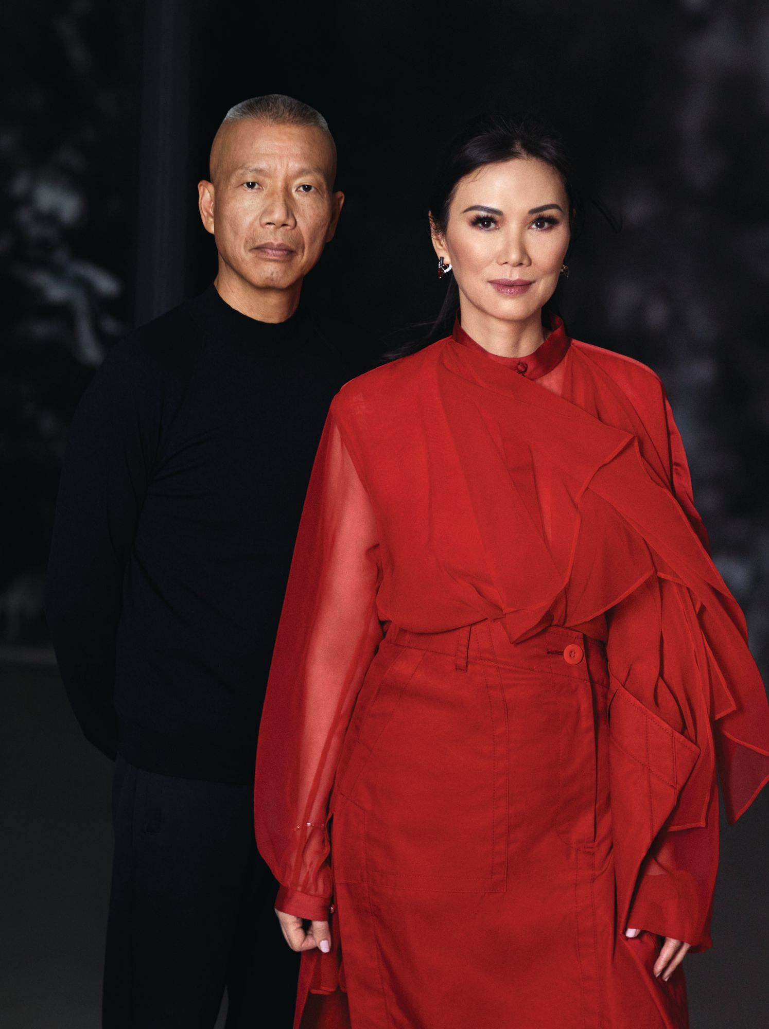 Wendi Murdoch And Cai Guo-Qiang On Friendship, Fireworks And The Future
