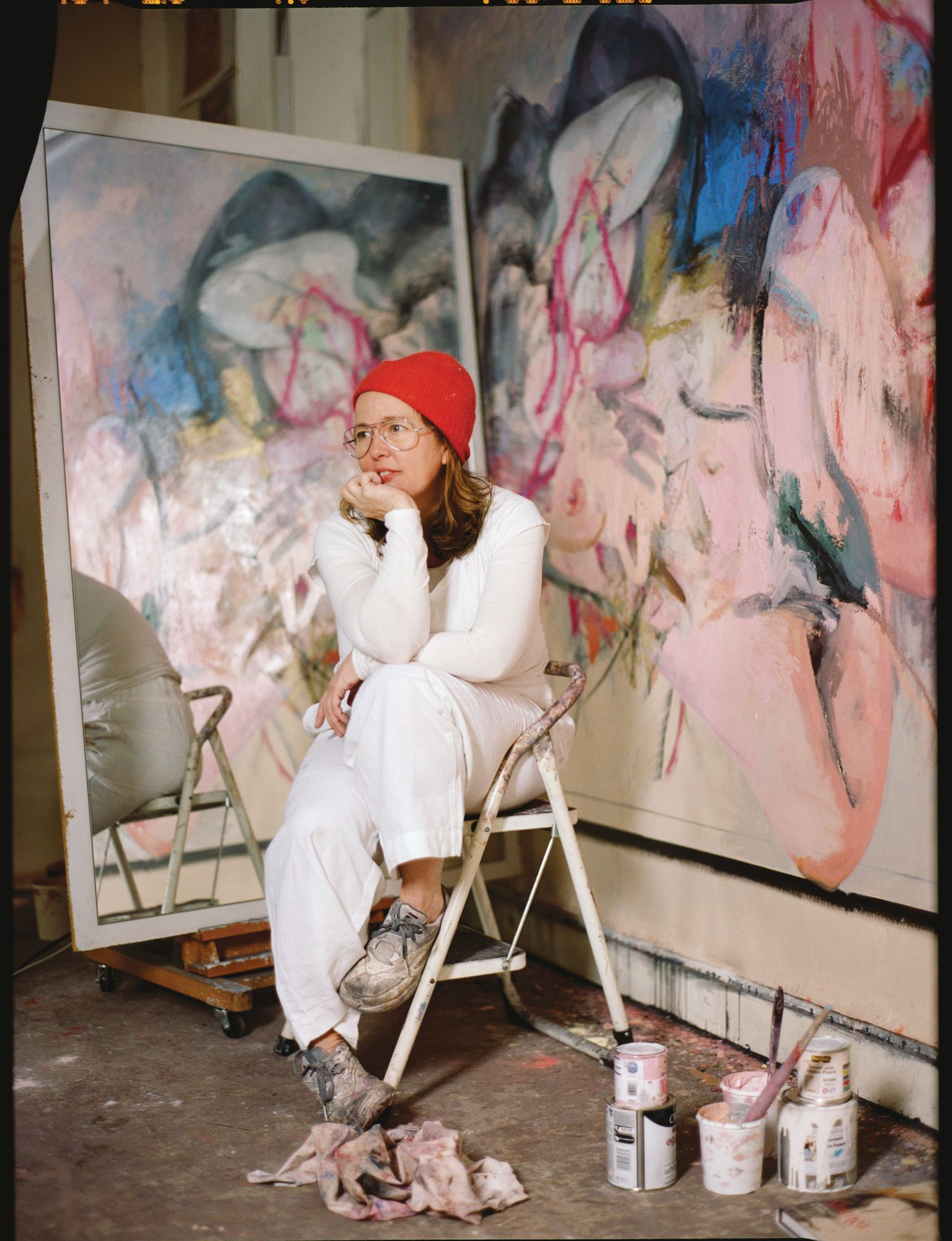 Artist Jenny Saville Takes Us Inside Her Studio And Reveals Insights Into Gender Equality