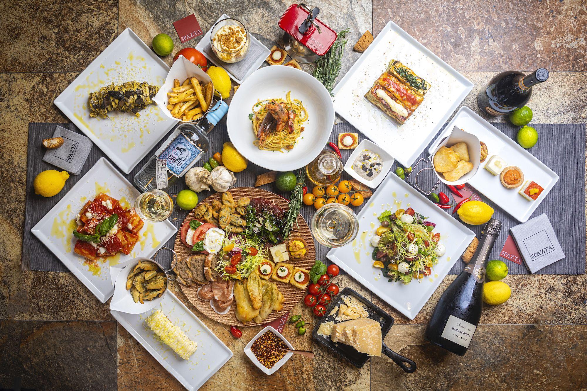 Pazta Brings Al Fresco Italian Dining To Tai Kwun This December