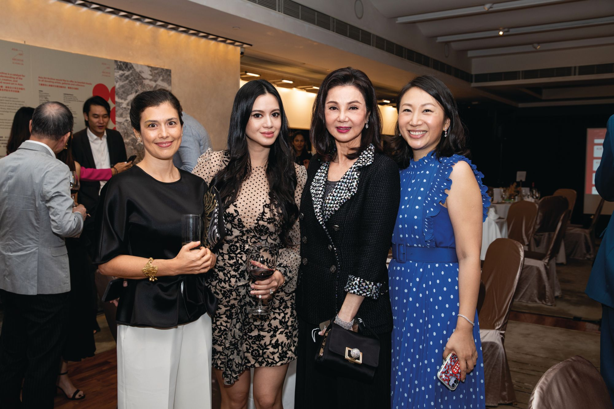 Asia Art Archive Celebrates Its 20th Anniversary At The Hong Kong Country Club